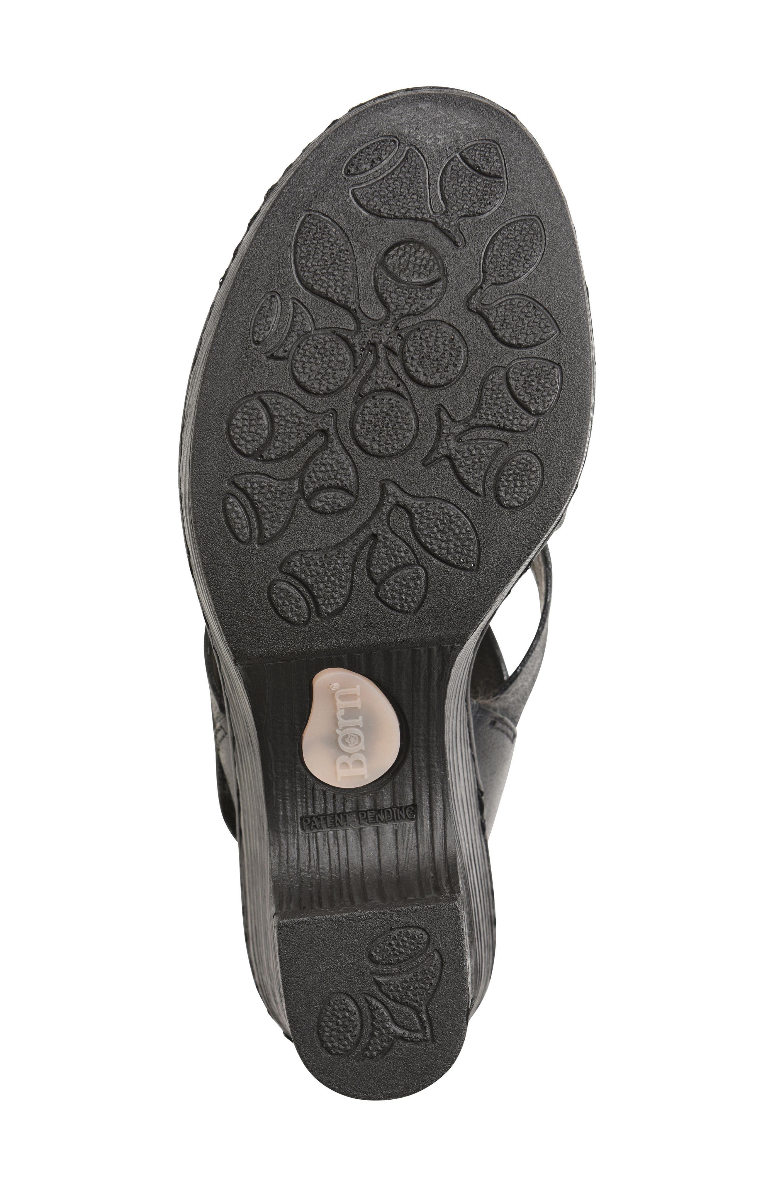Cubera Platform Sandal,                             Alternate thumbnail 6, color,                             001