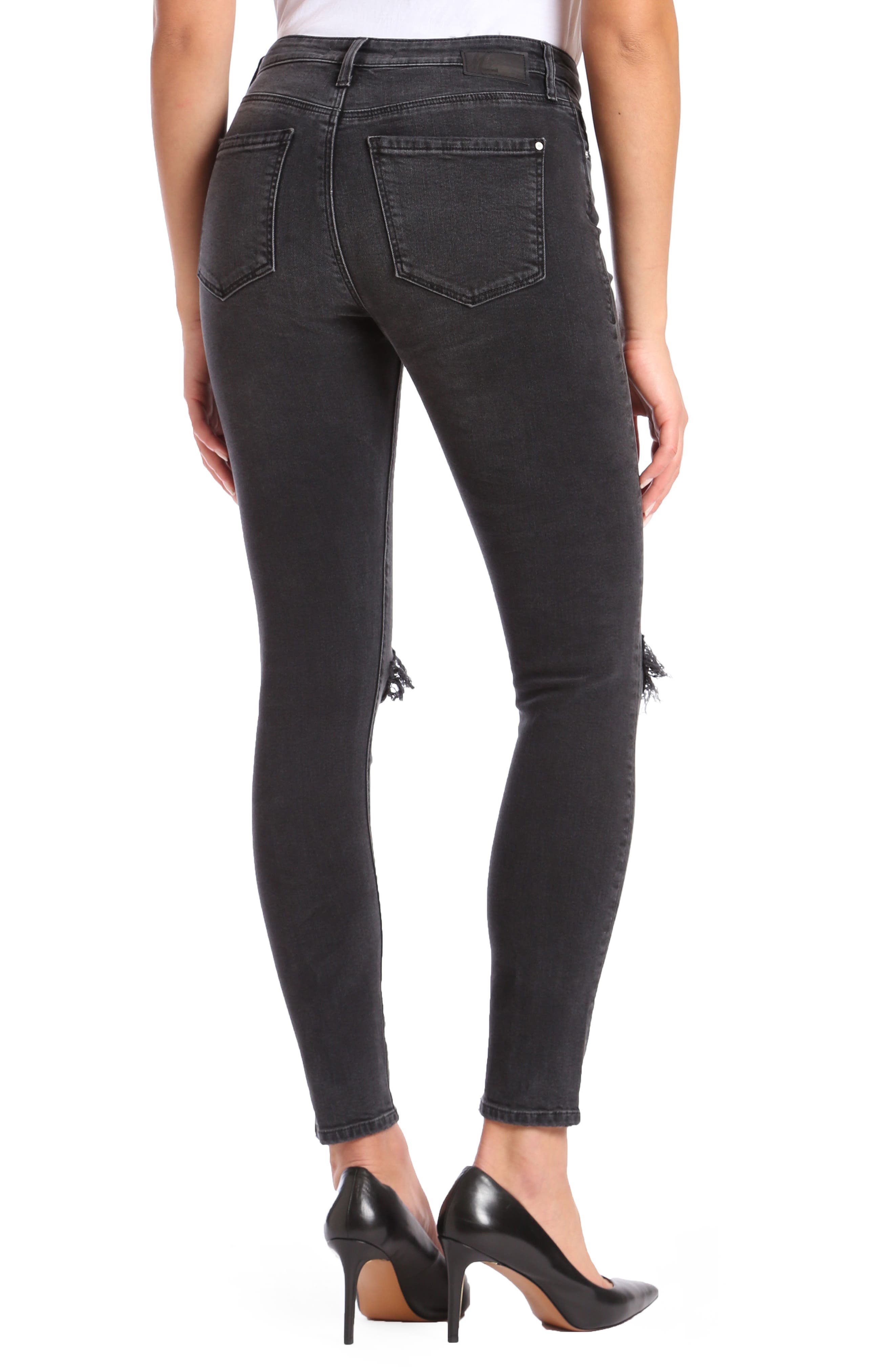 Lucy Ripped Super Skinny Jeans,                             Alternate thumbnail 2, color,