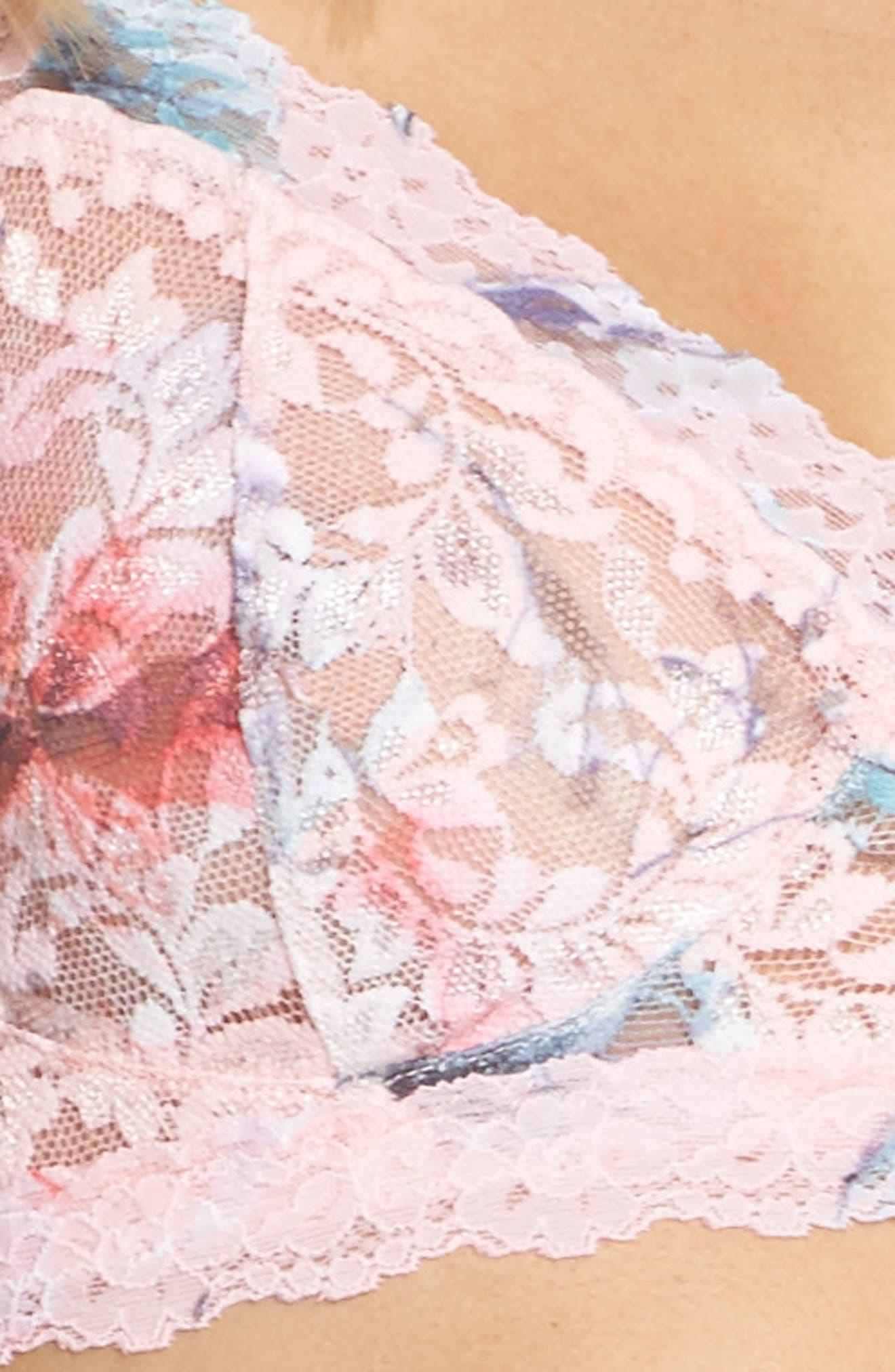 Cherie Retro Bralette,                             Alternate thumbnail 4, color,