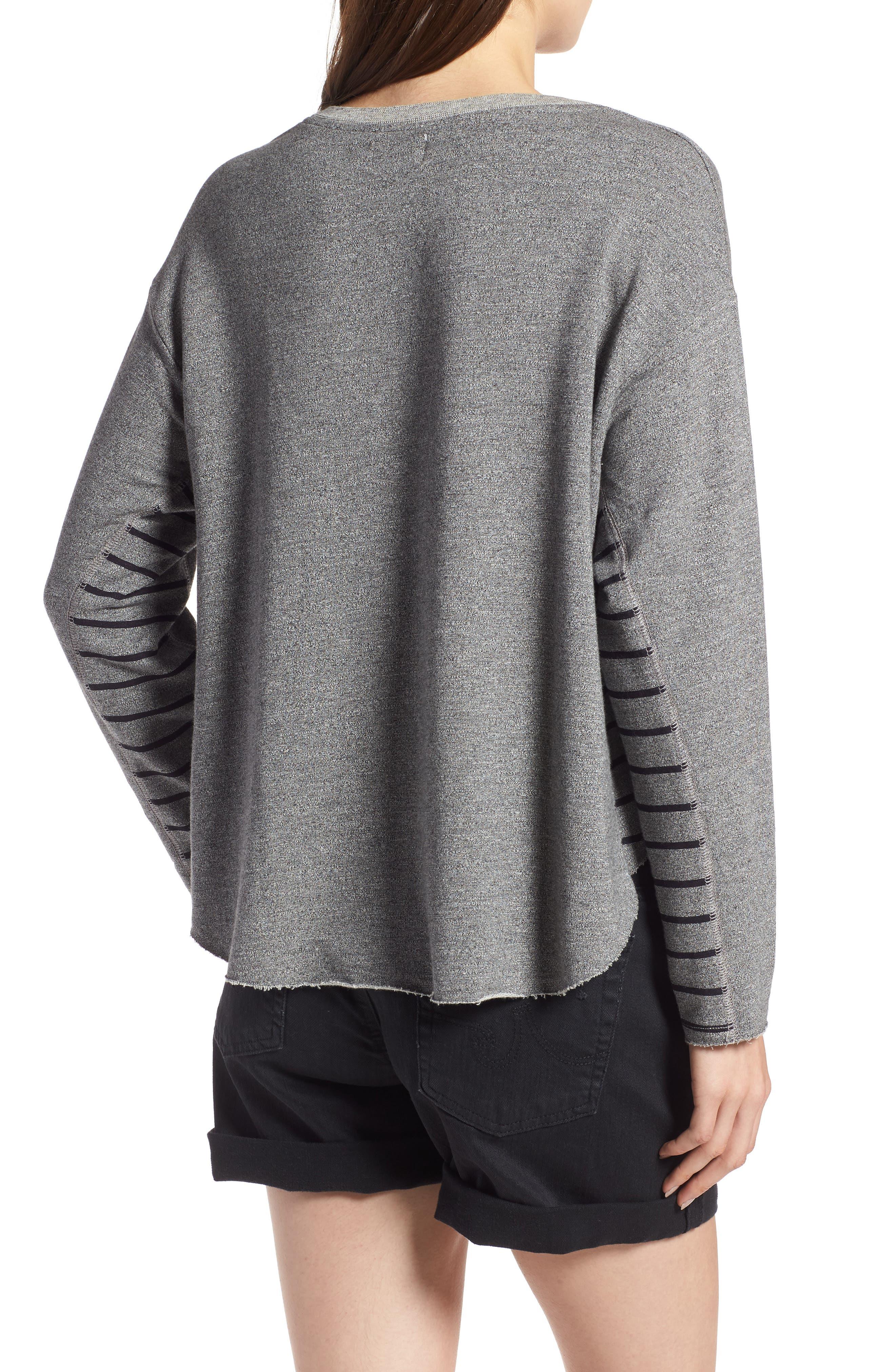 Active Trapeze Sweatshirt,                             Alternate thumbnail 2, color,