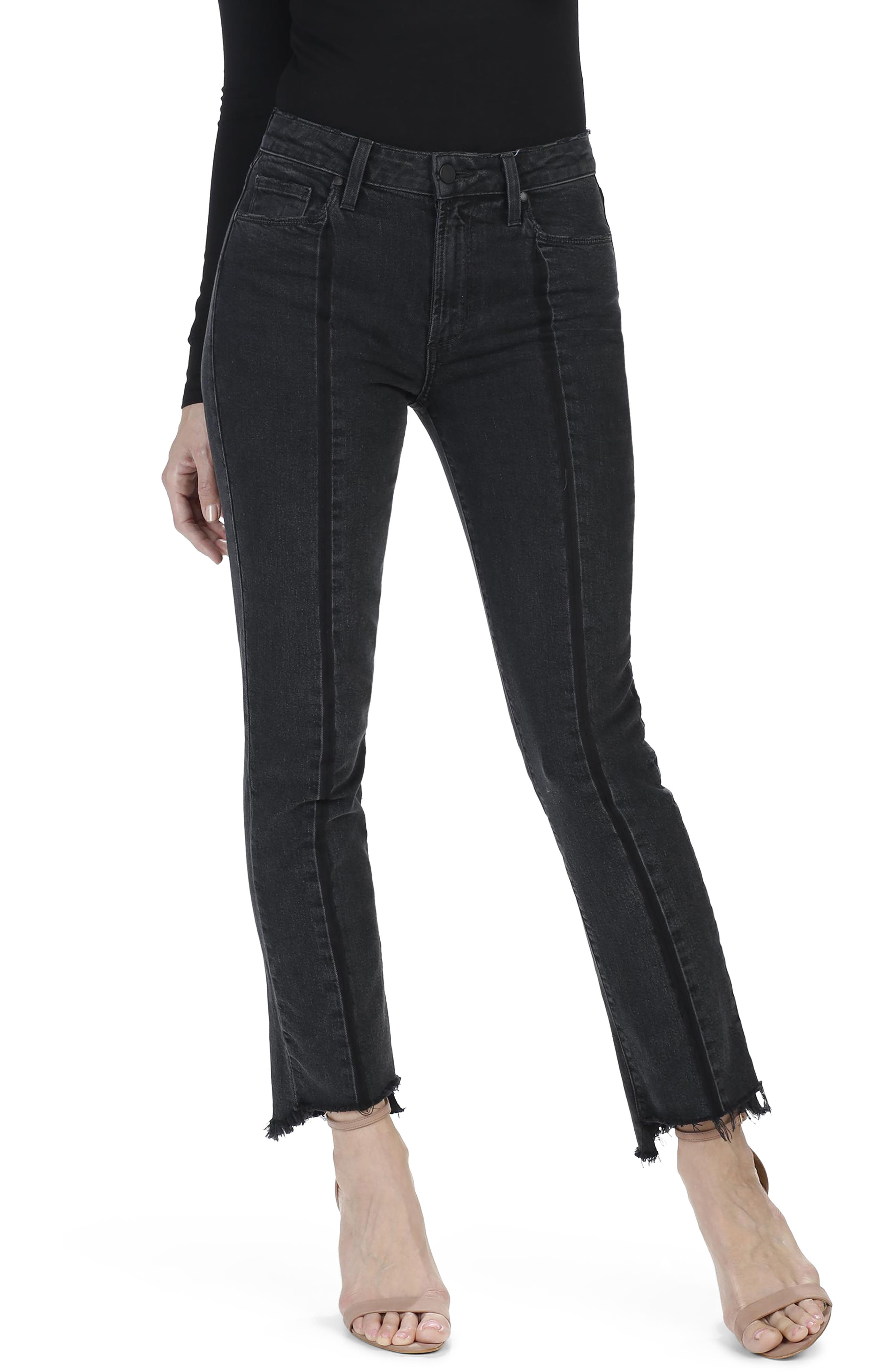 Vintage Julia High Waist Ankle Straight Leg Jeans,                             Alternate thumbnail 2, color,                             400