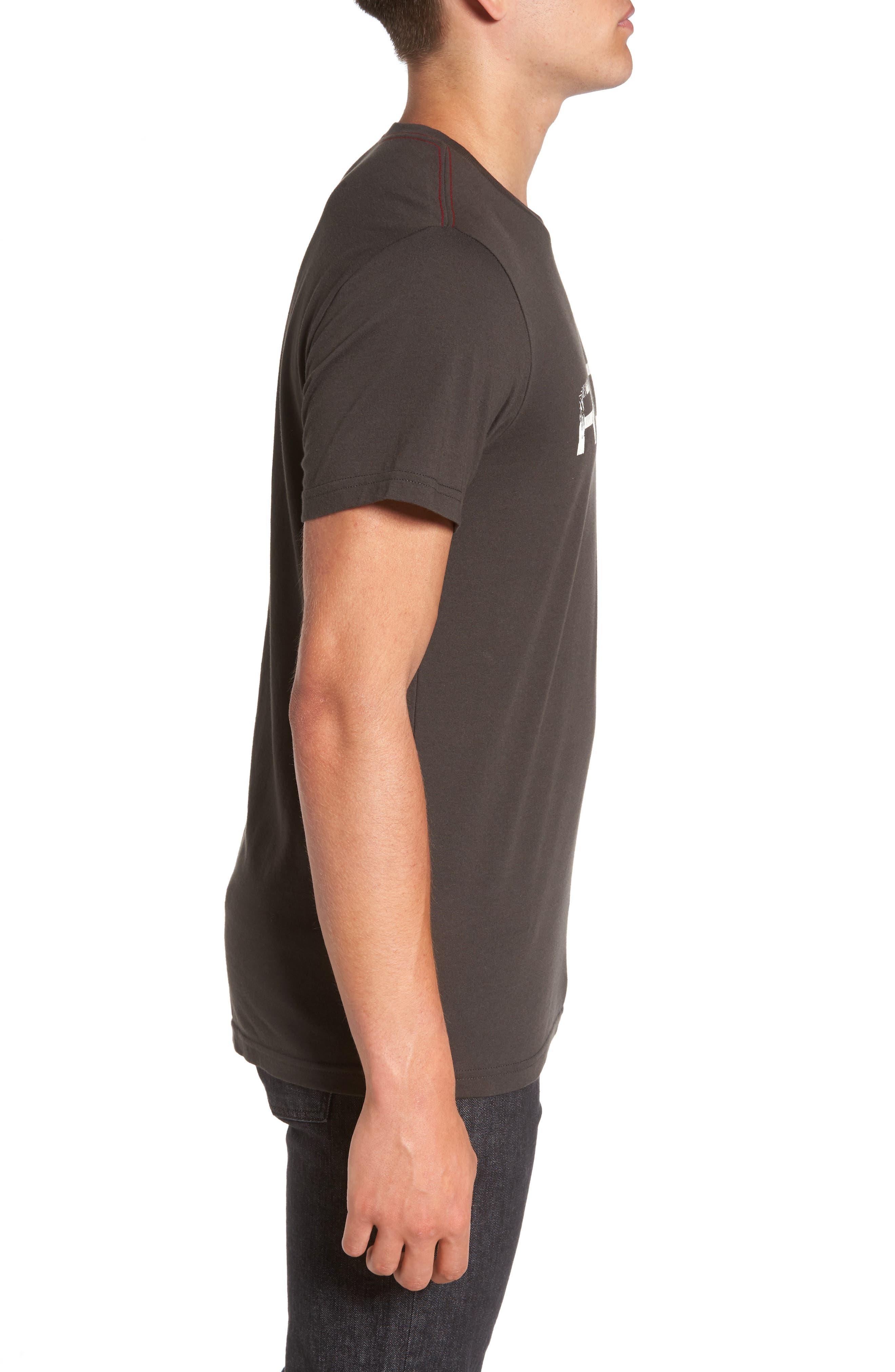 Big Palm Graphic T-Shirt,                             Alternate thumbnail 3, color,                             008