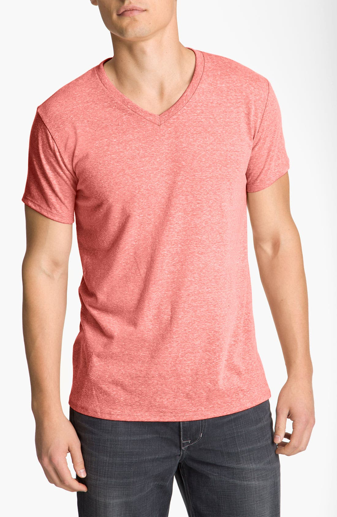 Threads for Thought Heather V-Neck,                             Main thumbnail 10, color,