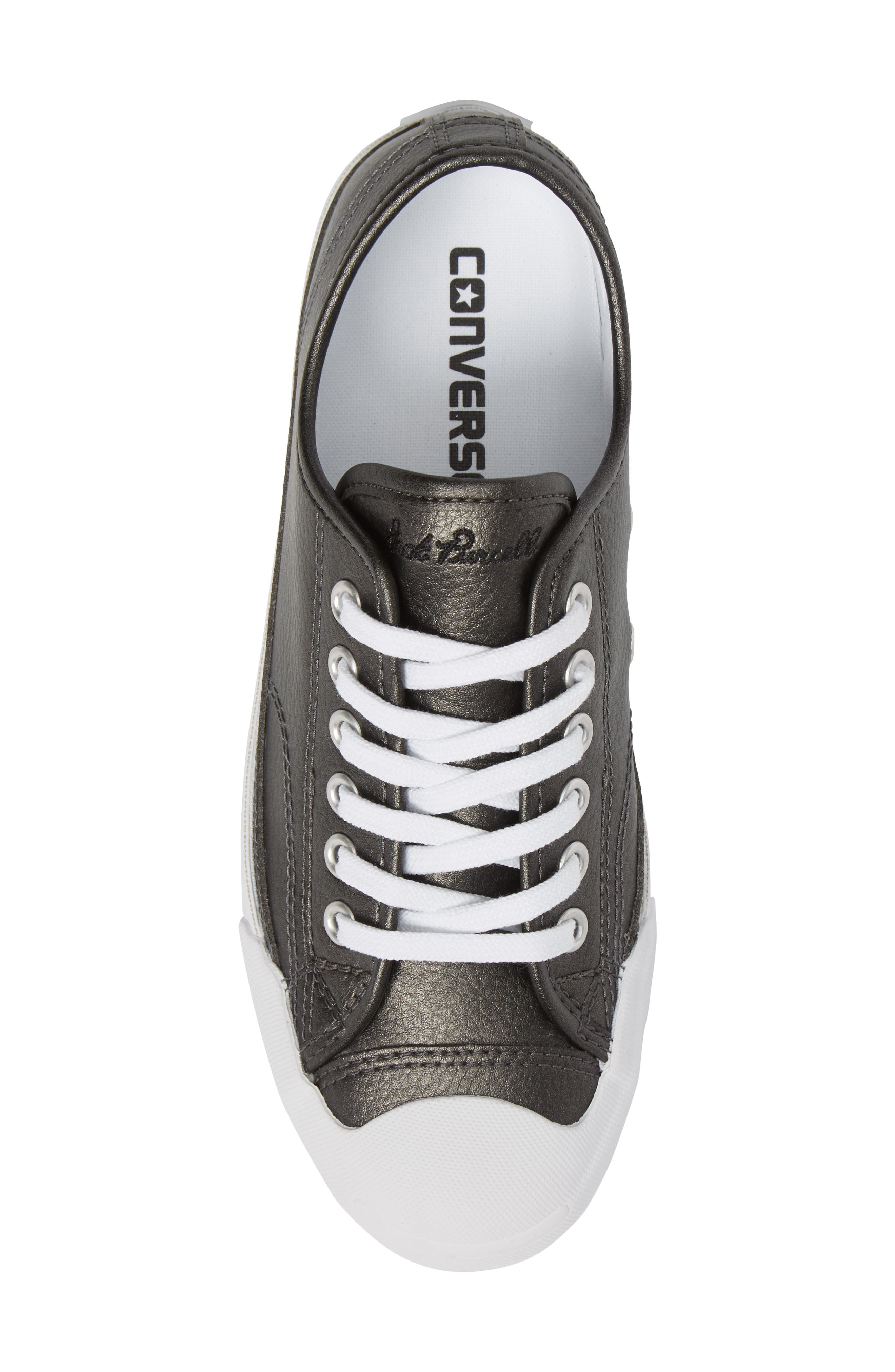Jack Purcell Low Top Sneaker,                             Alternate thumbnail 5, color,                             001