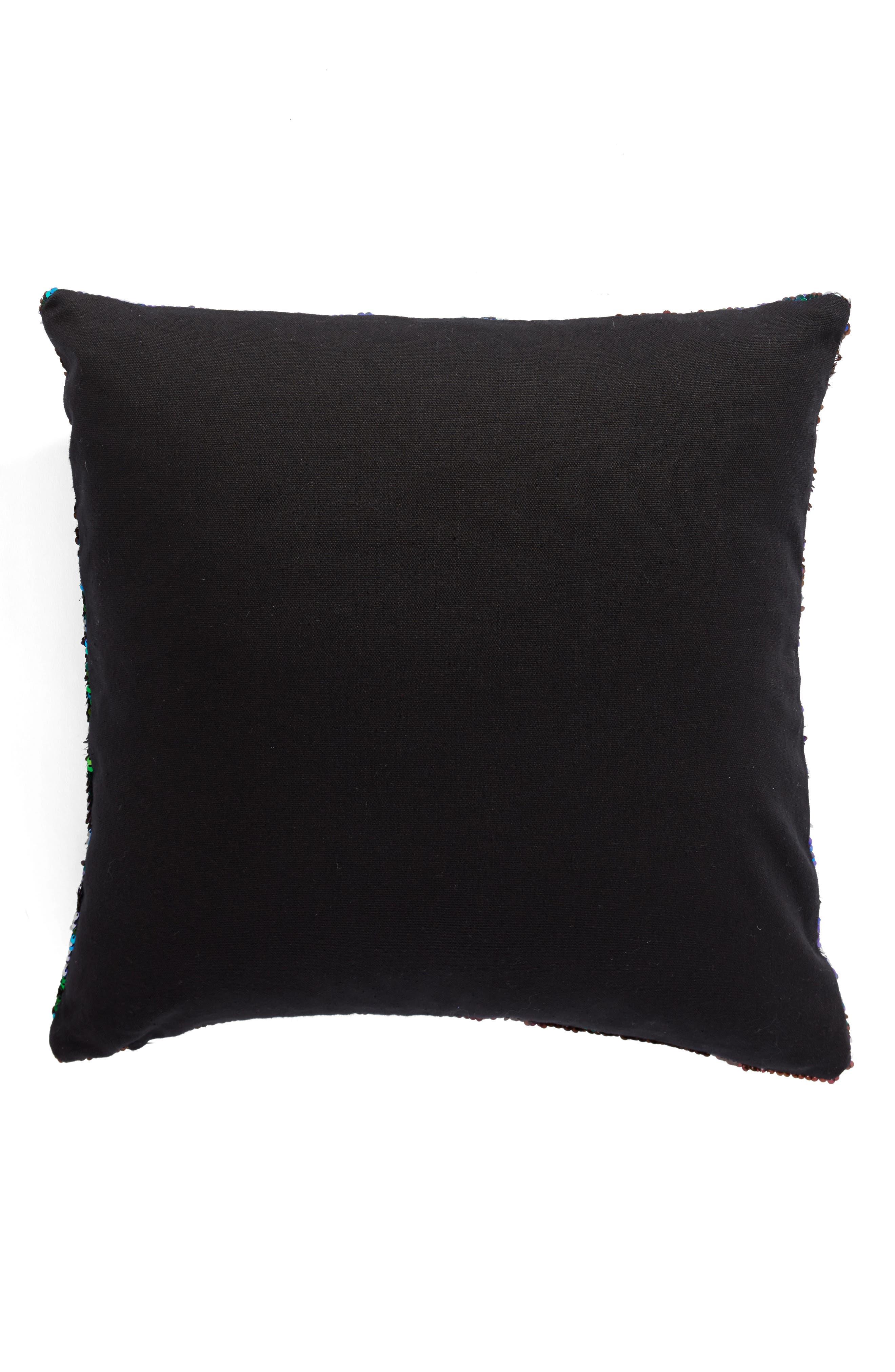 Sequin Pillow,                             Alternate thumbnail 2, color,                             001