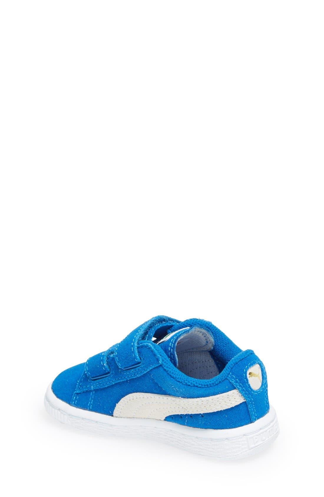 Suede Sneaker,                             Alternate thumbnail 17, color,