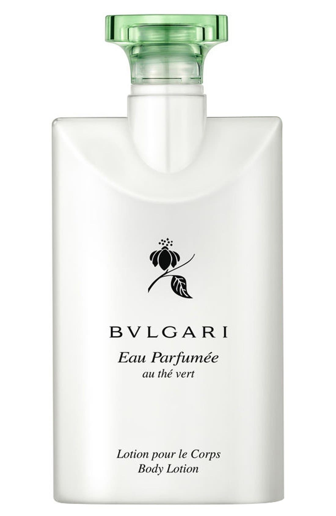 BVLGARI,                             'Eau Parfumée au thé Vert' Body Lotion,                             Alternate thumbnail 4, color,                             NO COLOR