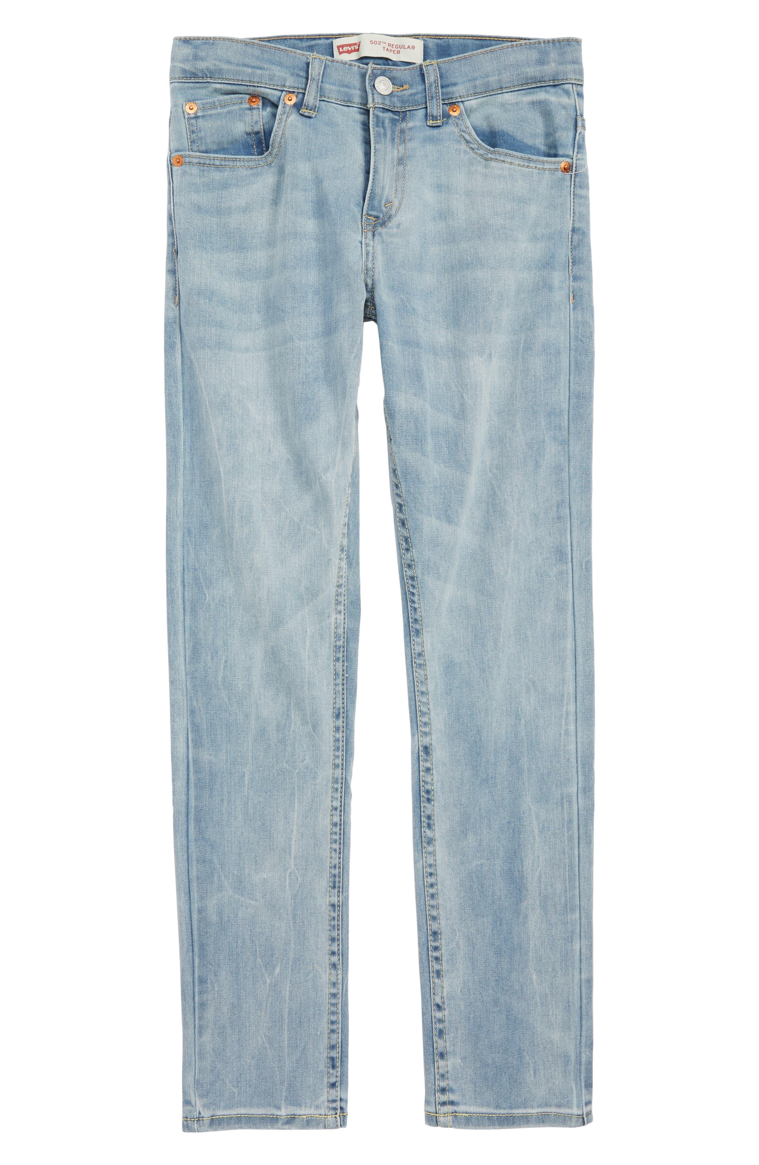 LEVI'S<SUP>®</SUP>,                             Levi's<sup>®</sup> 502<sup>™</sup> Regular Taper Jeans,                             Main thumbnail 1, color,                             YOSEMITE FALLS