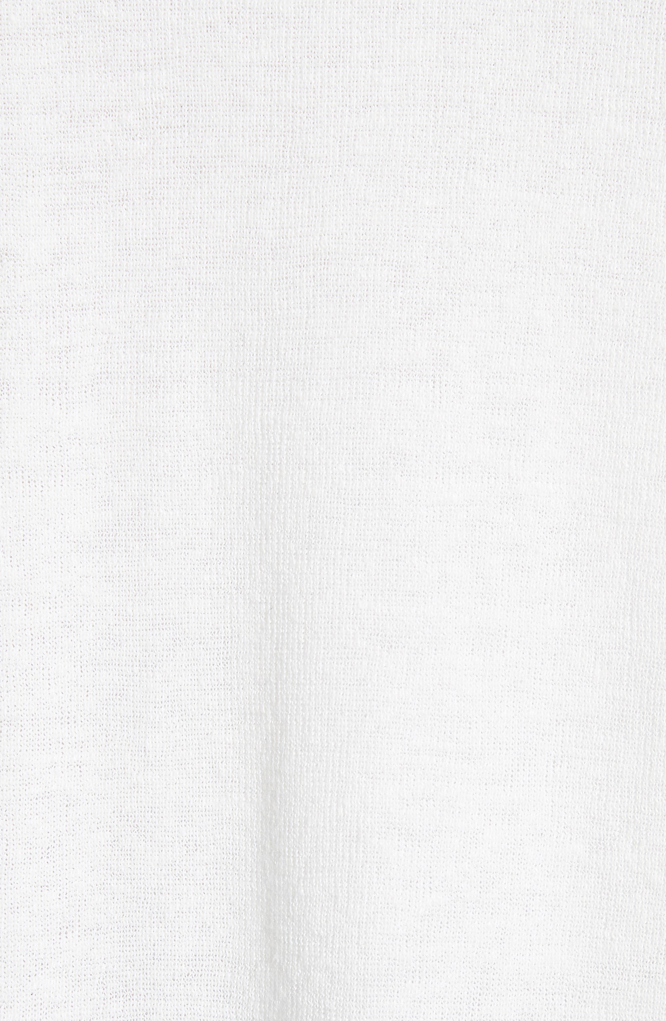 New Harbor Linen Blend Maxi Cardigan,                             Alternate thumbnail 5, color,                             907