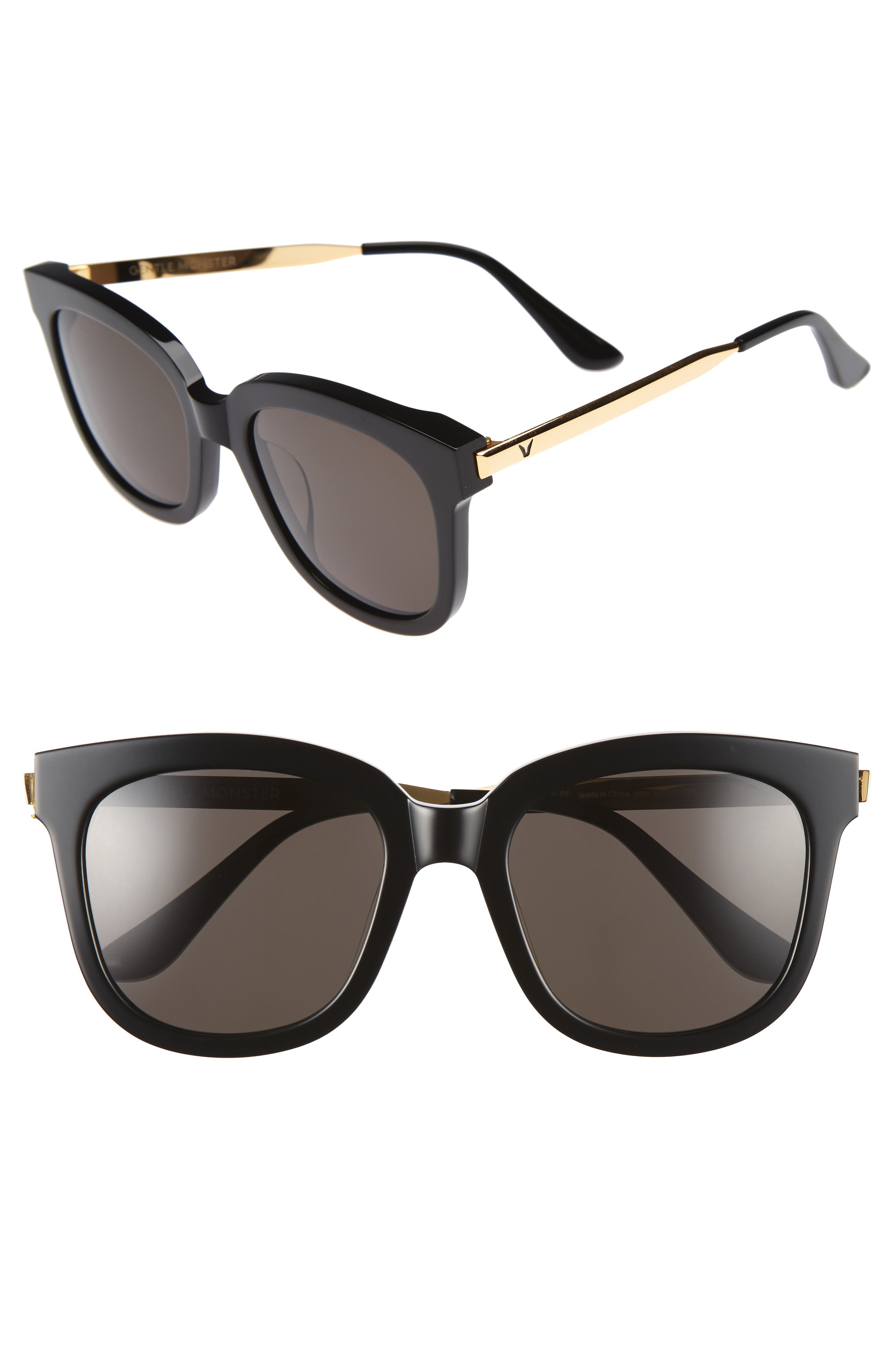 Absente 54mm Sunglasses,                         Main,                         color, 001