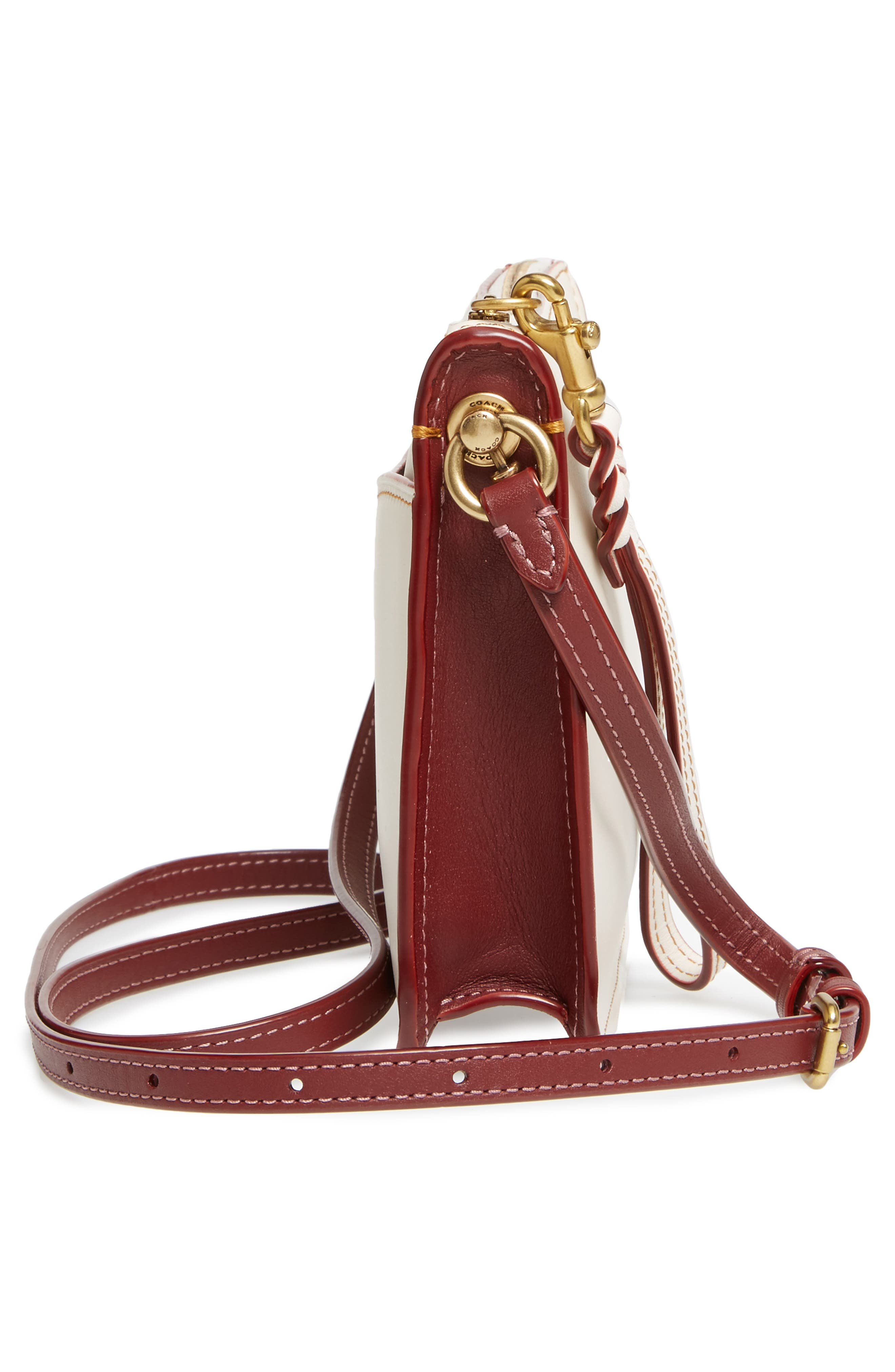 Colorblock Soho Leather Crossbody Bag,                             Alternate thumbnail 5, color,                             250