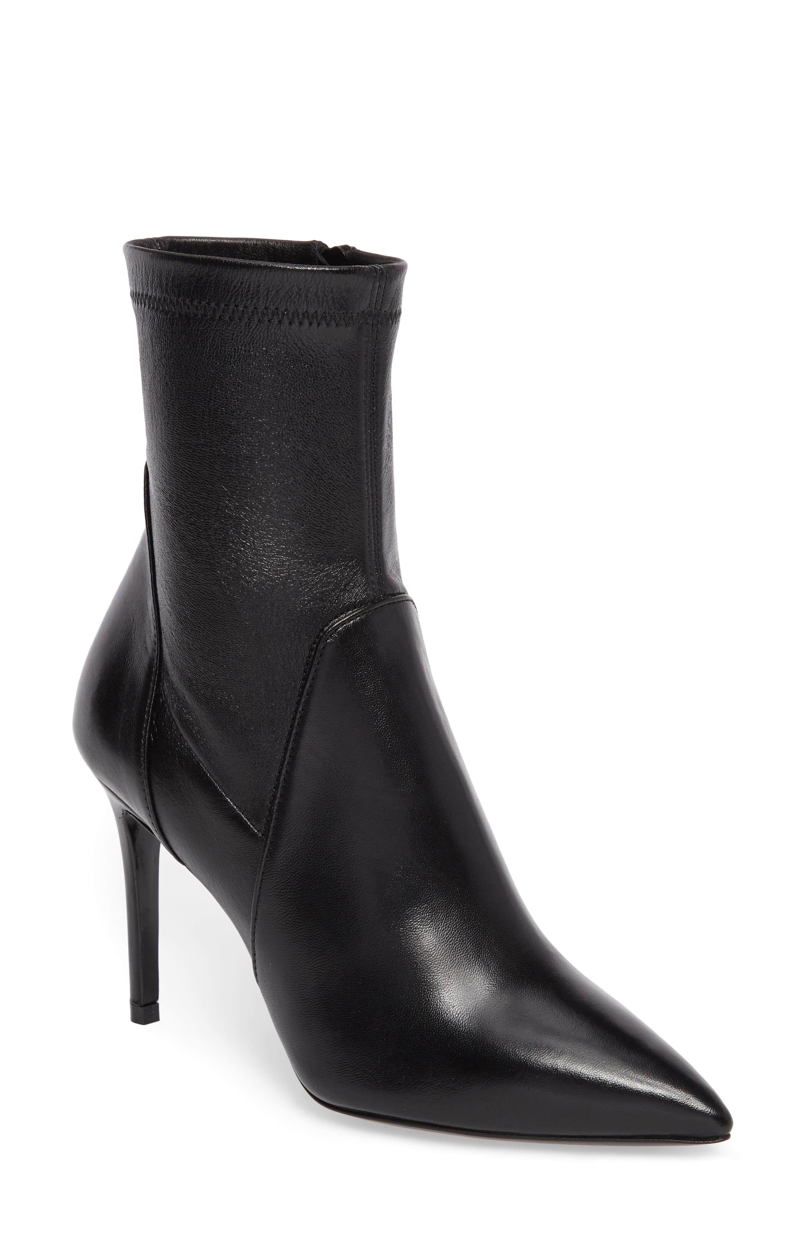 Linden Mid-Calf Pointy-Toe Boot,                         Main,                         color, 001