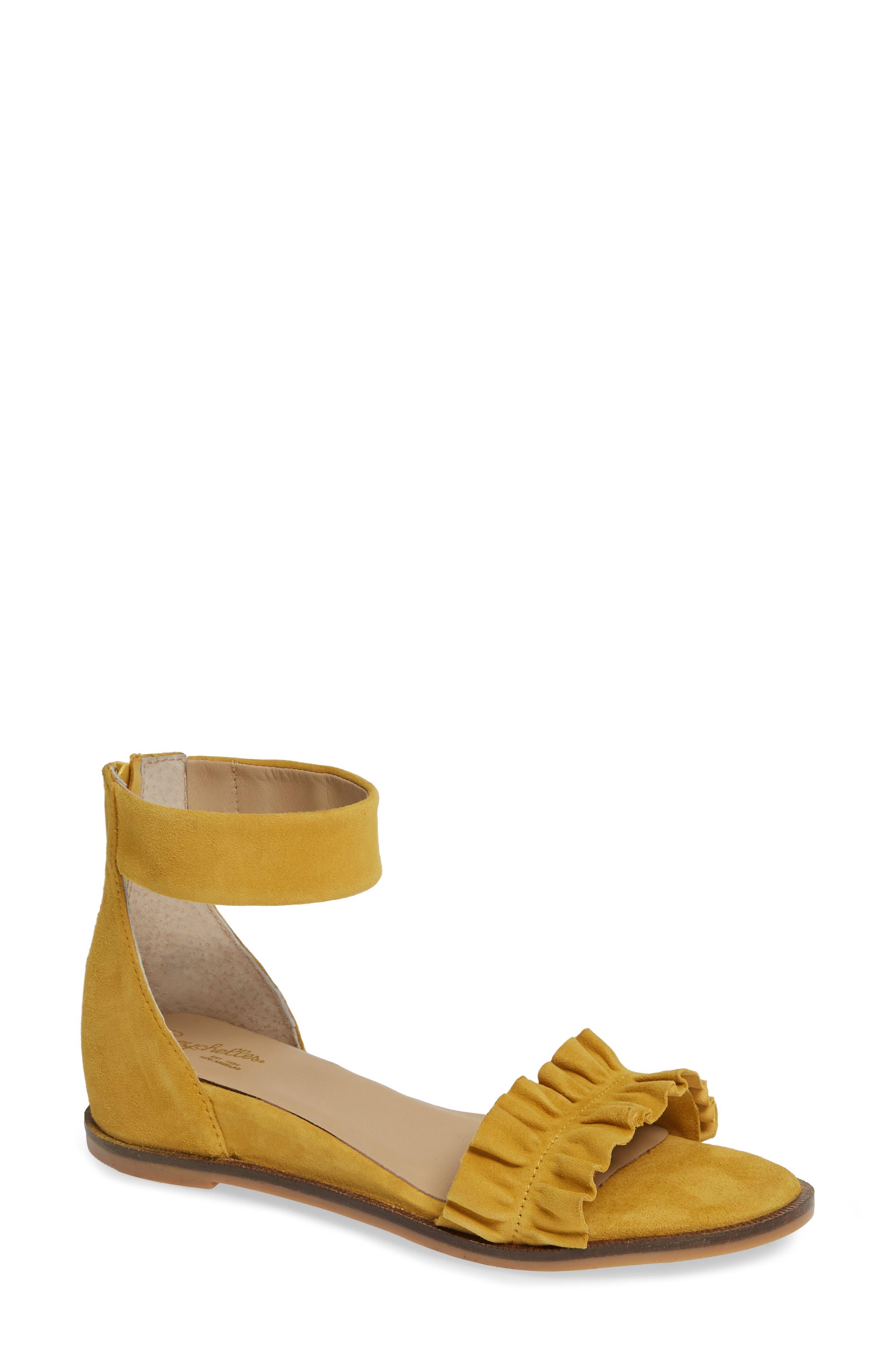 Noble Suede Sandal,                         Main,                         color, 700
