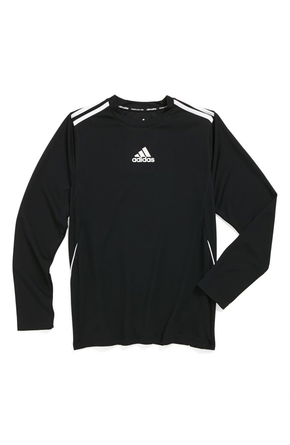ClimaCore Long Sleeve Shirt, Main, color, 001