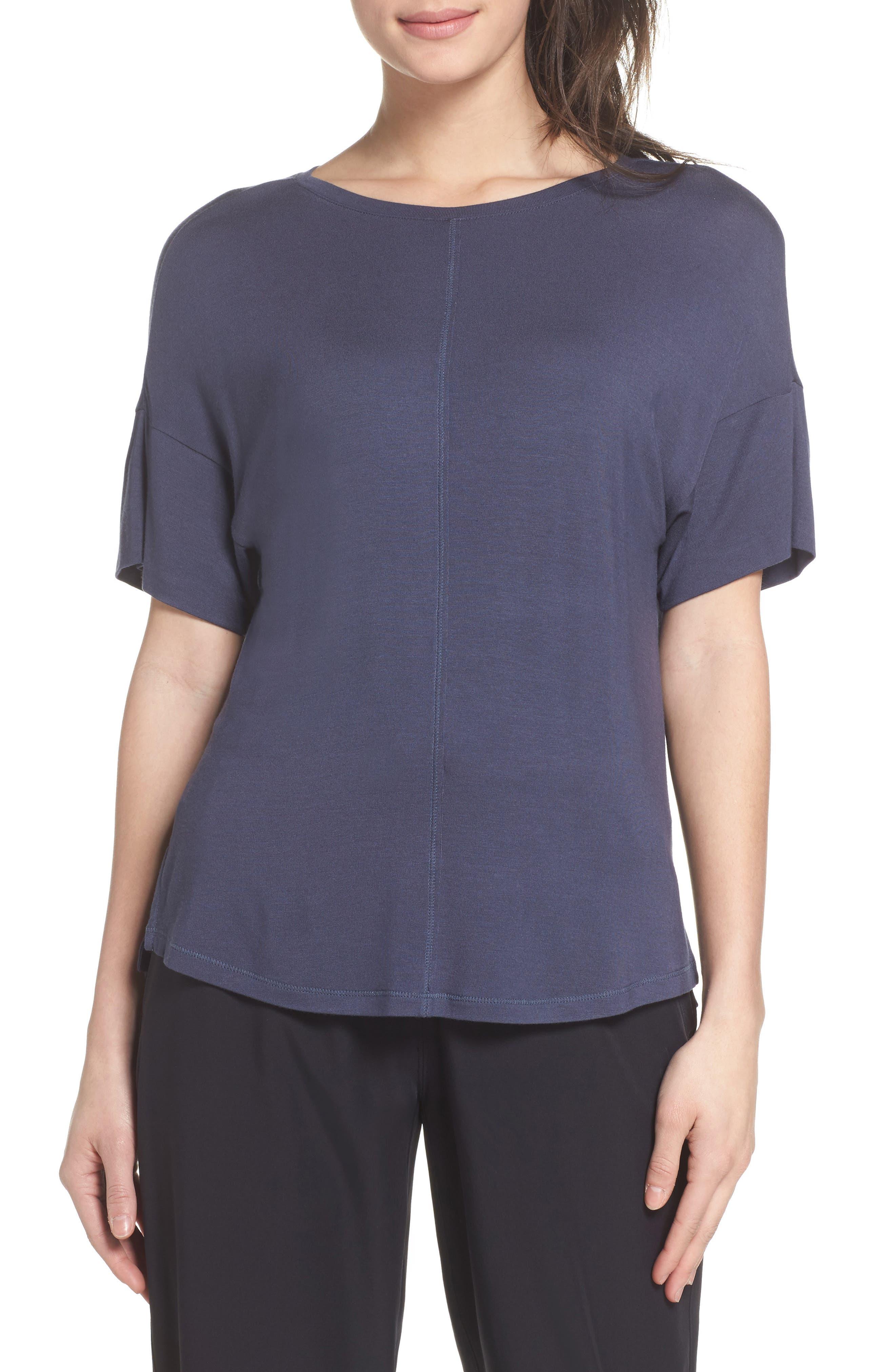ZELLA New Energy T-Shirt, Main, color, GREY SLATE