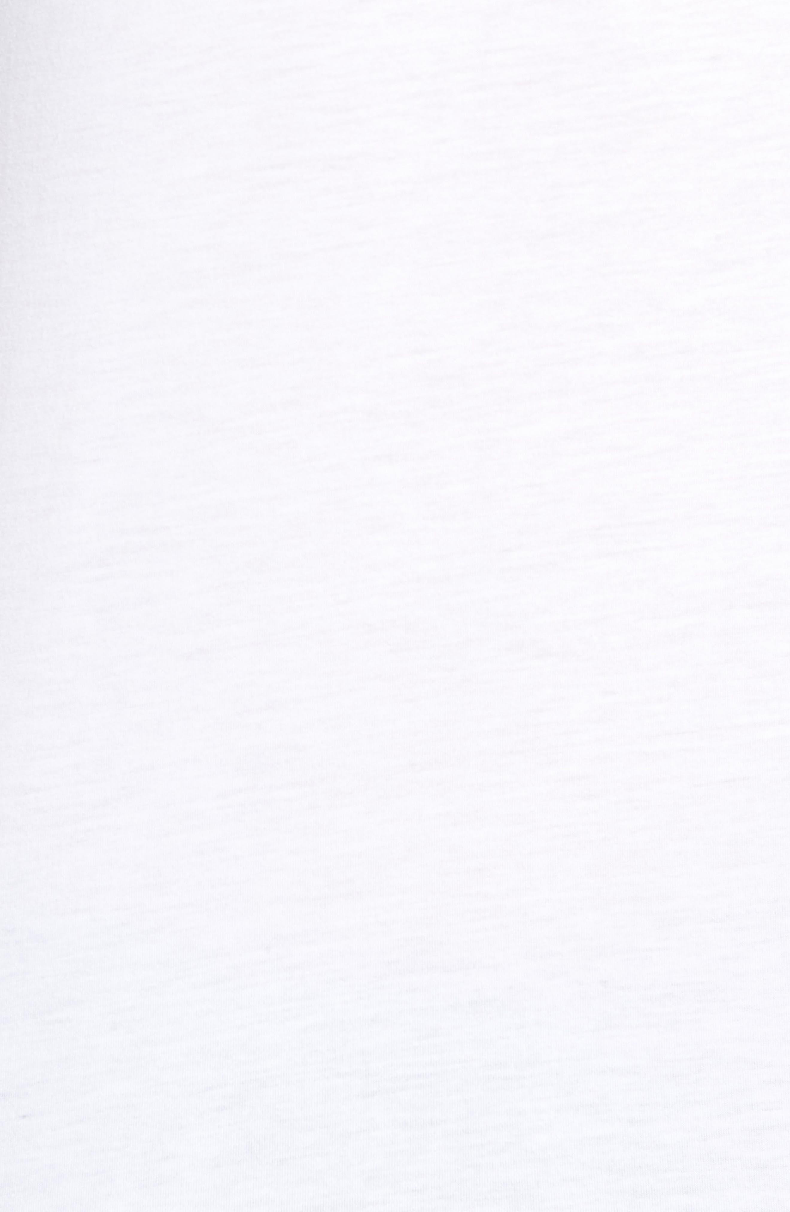 Dry Running Division T-Shirt,                             Alternate thumbnail 5, color,                             WHITE/ GUNSMOKE