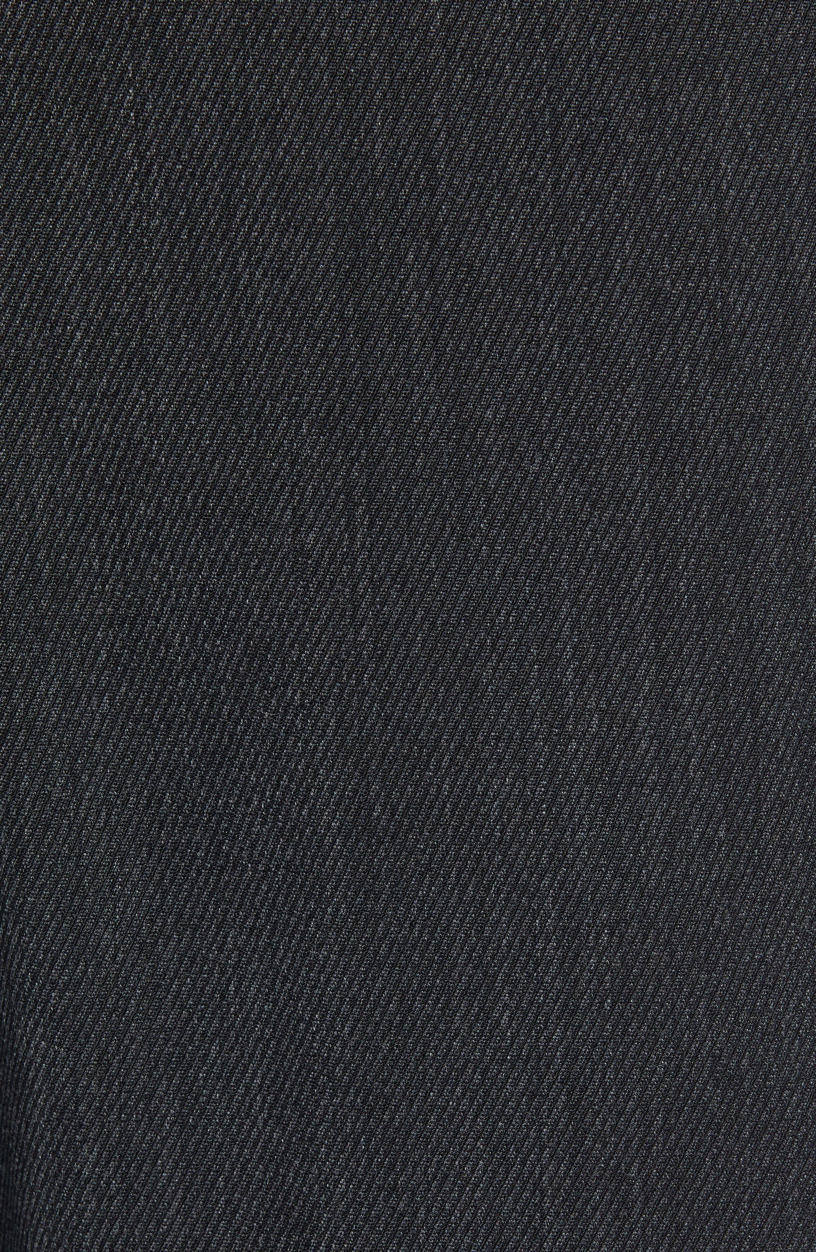 Trim Fit Flat Front Wool Blend Pants,                             Alternate thumbnail 5, color,                             021