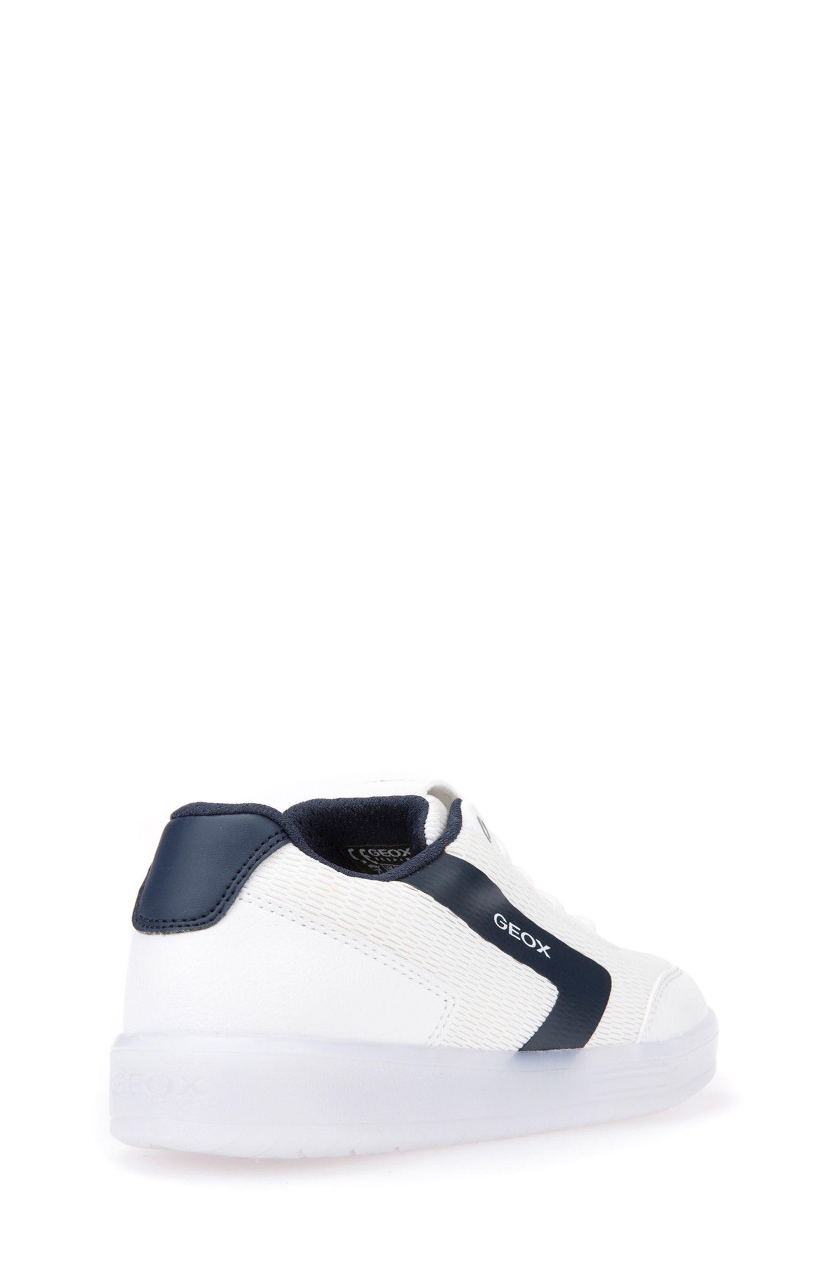 Kommodor Light-Up Low Top Sneaker,                             Alternate thumbnail 2, color,                             WHITE/ NAVY