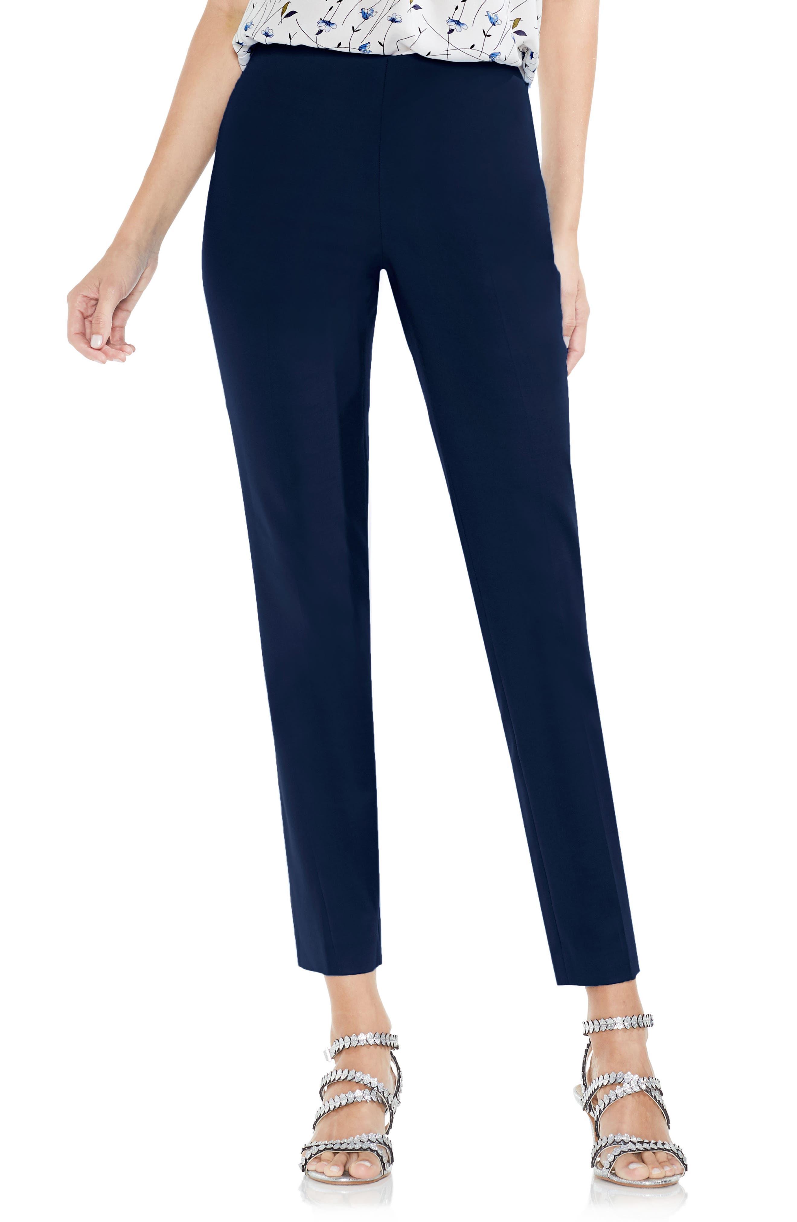 Side Zip Double Weave Pants,                             Main thumbnail 8, color,