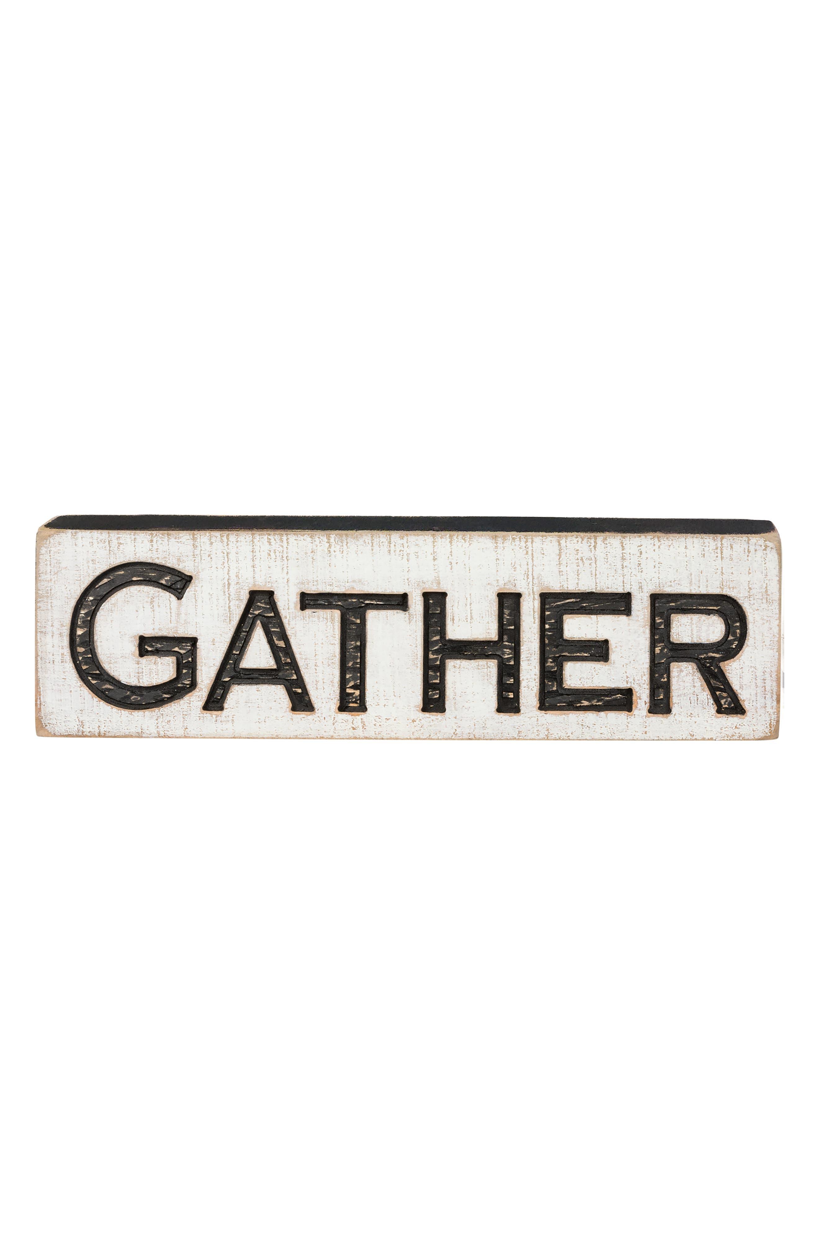 Gather Farmhouse Sign,                             Alternate thumbnail 2, color,                             100
