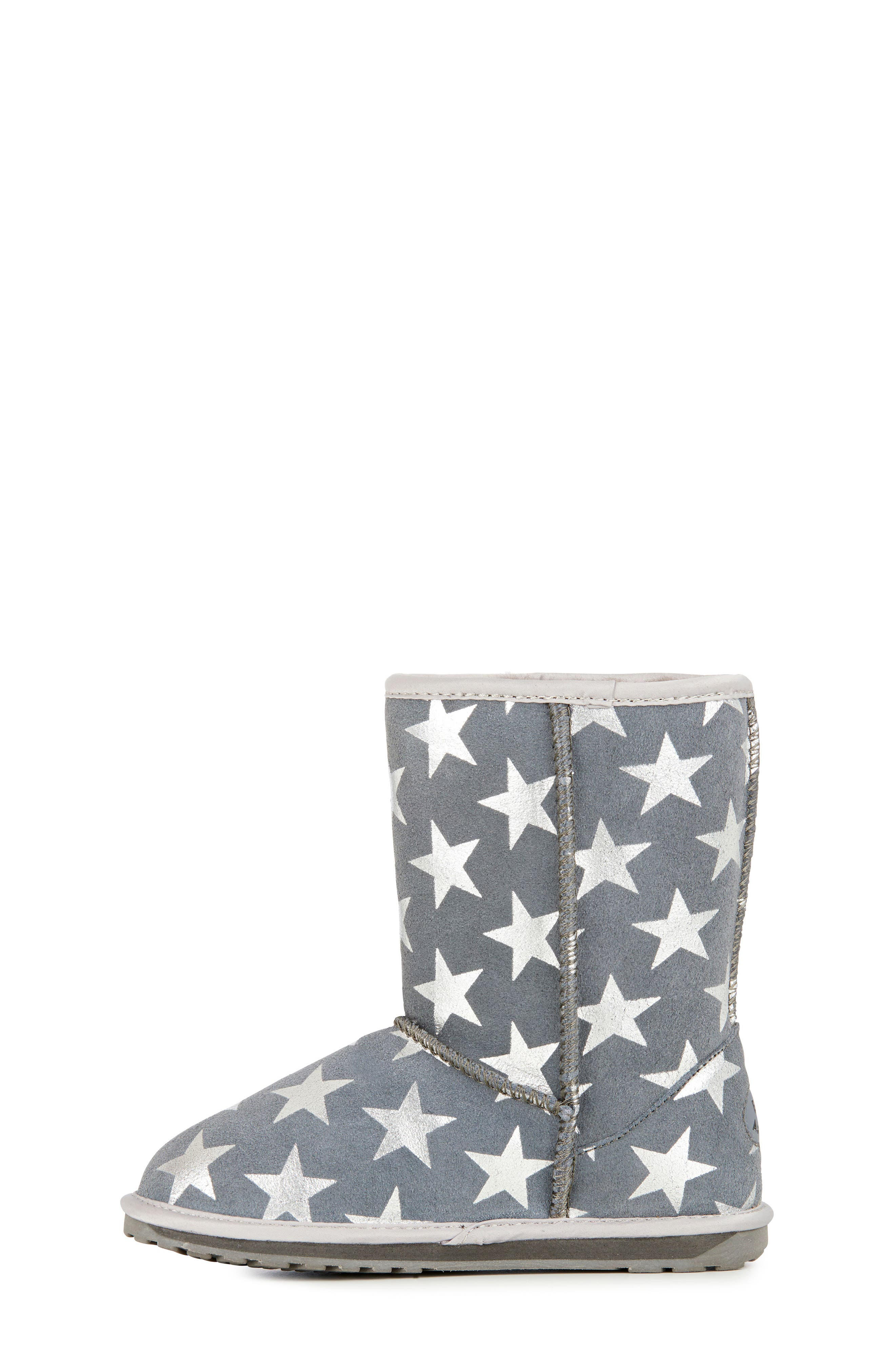 EMUAustralia Starry Night Boot,                             Alternate thumbnail 10, color,                             CHARCOAL