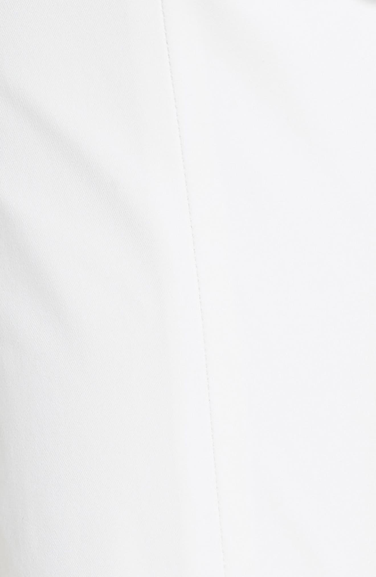 Roxy Crop Pants,                             Alternate thumbnail 5, color,                             WHITE