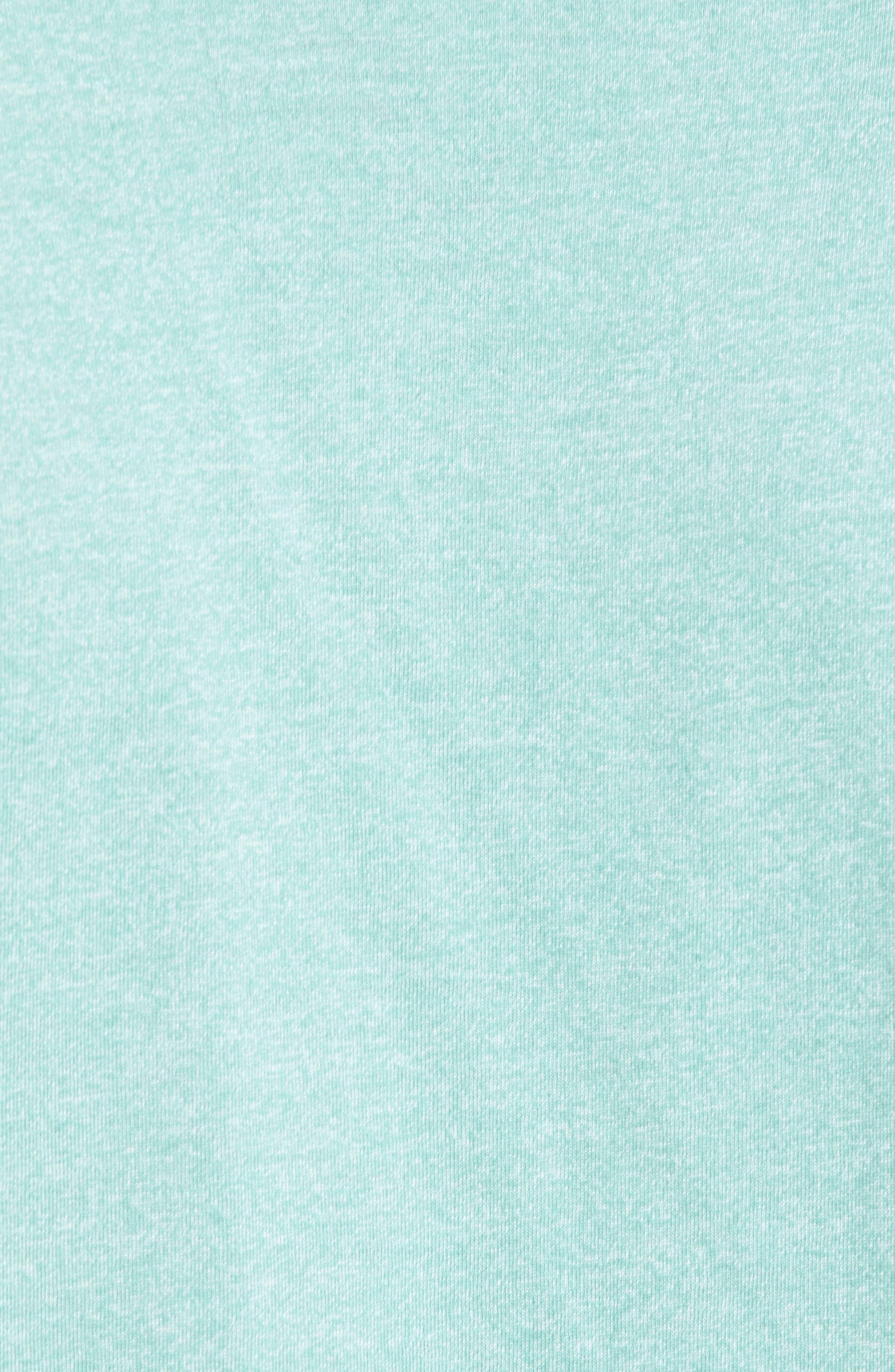 Accelerate Mock Twist T-Shirt,                             Alternate thumbnail 5, color,                             GREEN