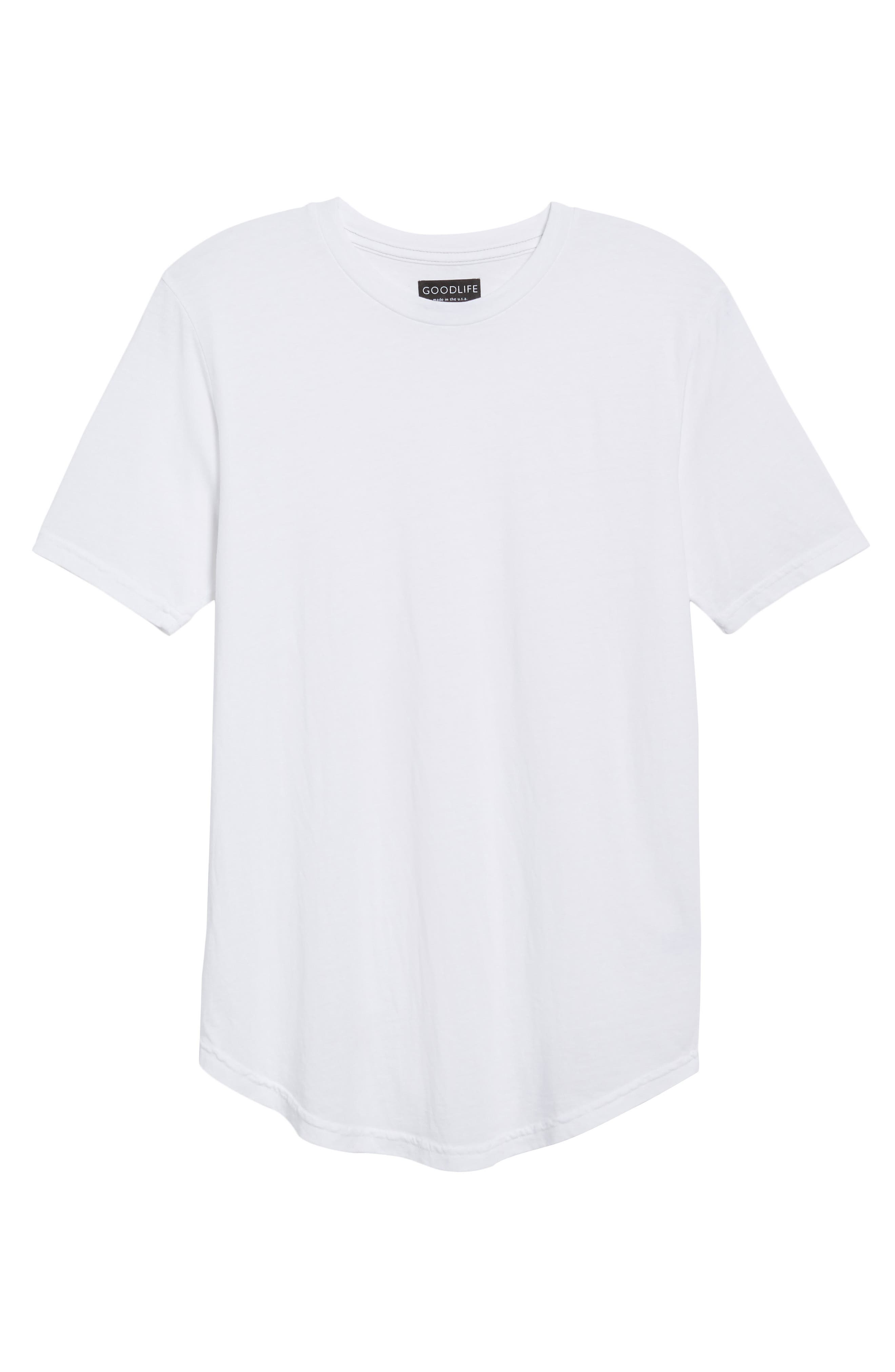 Scallop Triblend Crewneck T-Shirt,                             Alternate thumbnail 40, color,