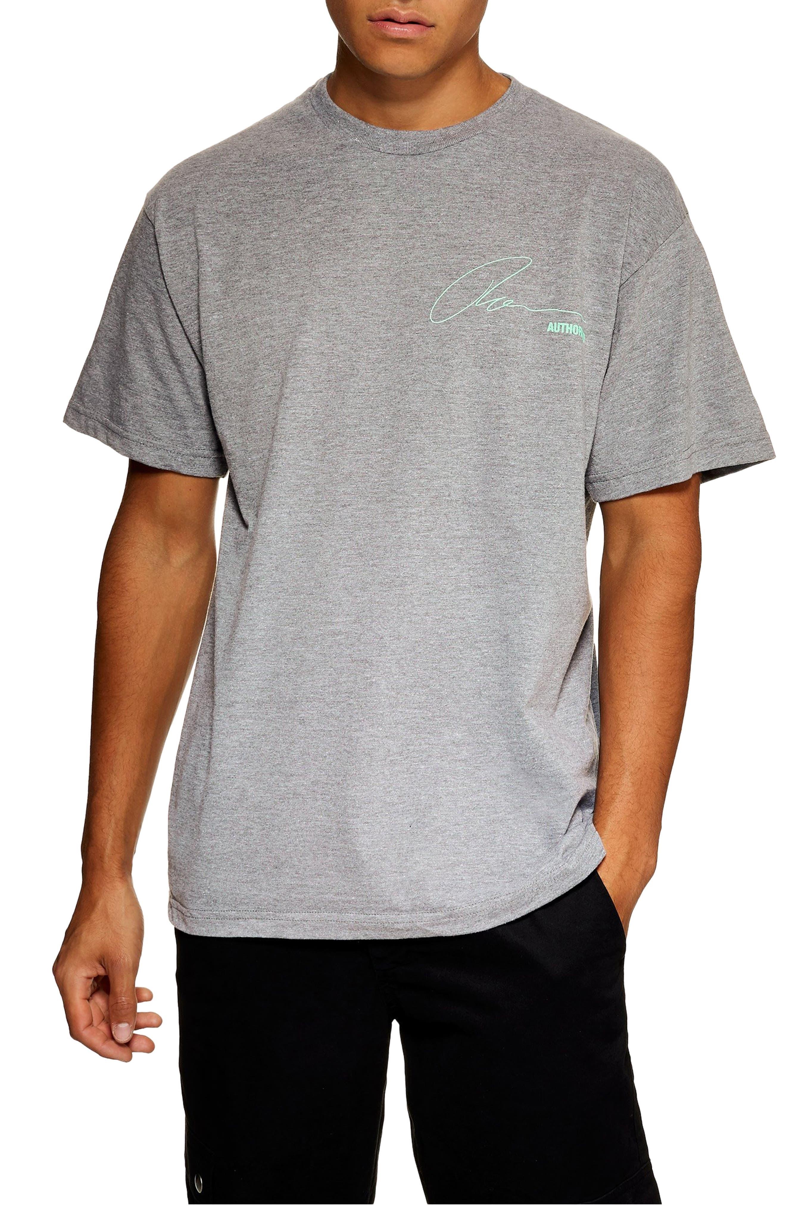 Explicit Content T-Shirt,                             Main thumbnail 1, color,                             GREY