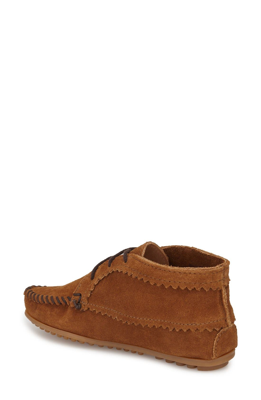 Chukka Moccasin Boot,                             Alternate thumbnail 2, color,                             DUSTY BROWN