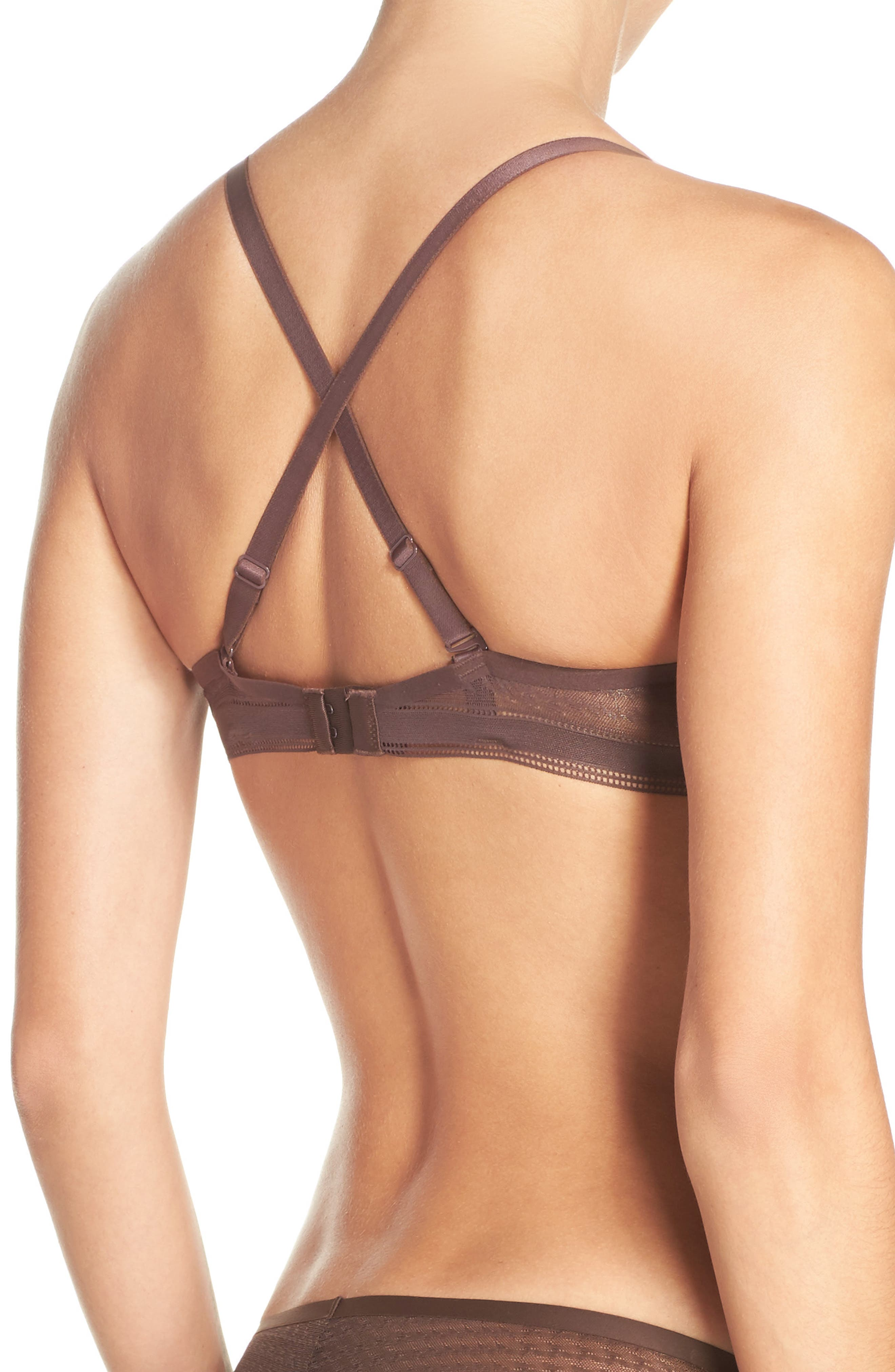 Muse Underwire Plunge Push-Up Bra,                             Alternate thumbnail 12, color,