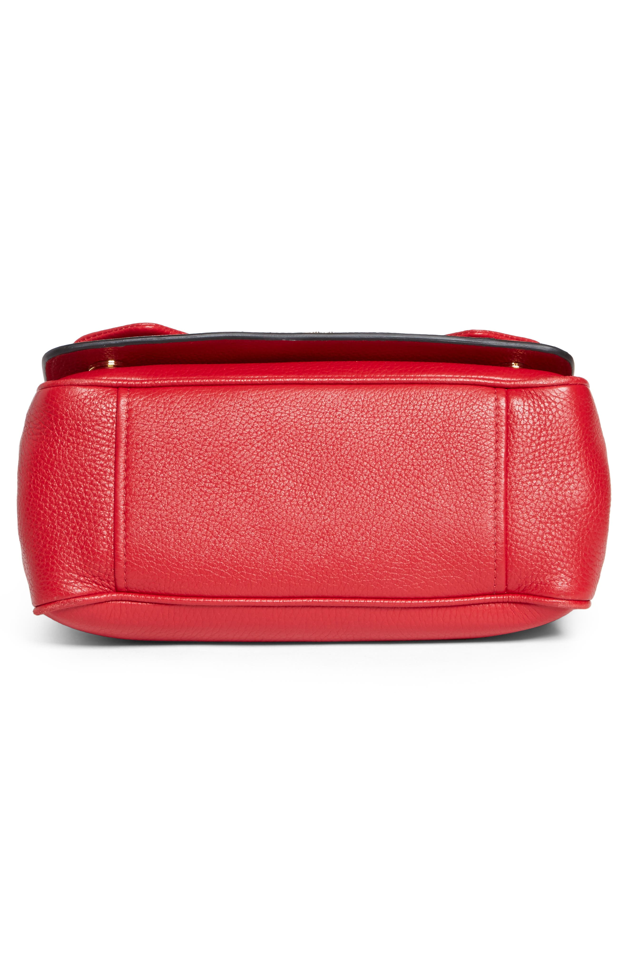 Grainy-B Leather Crossbody Bag,                             Alternate thumbnail 12, color,