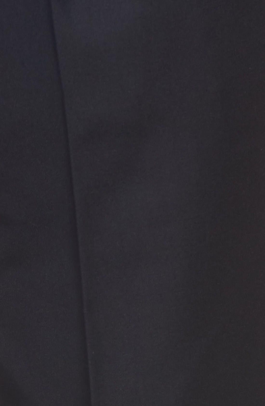 Pleated Microfiber Dress Pants,                             Alternate thumbnail 27, color,