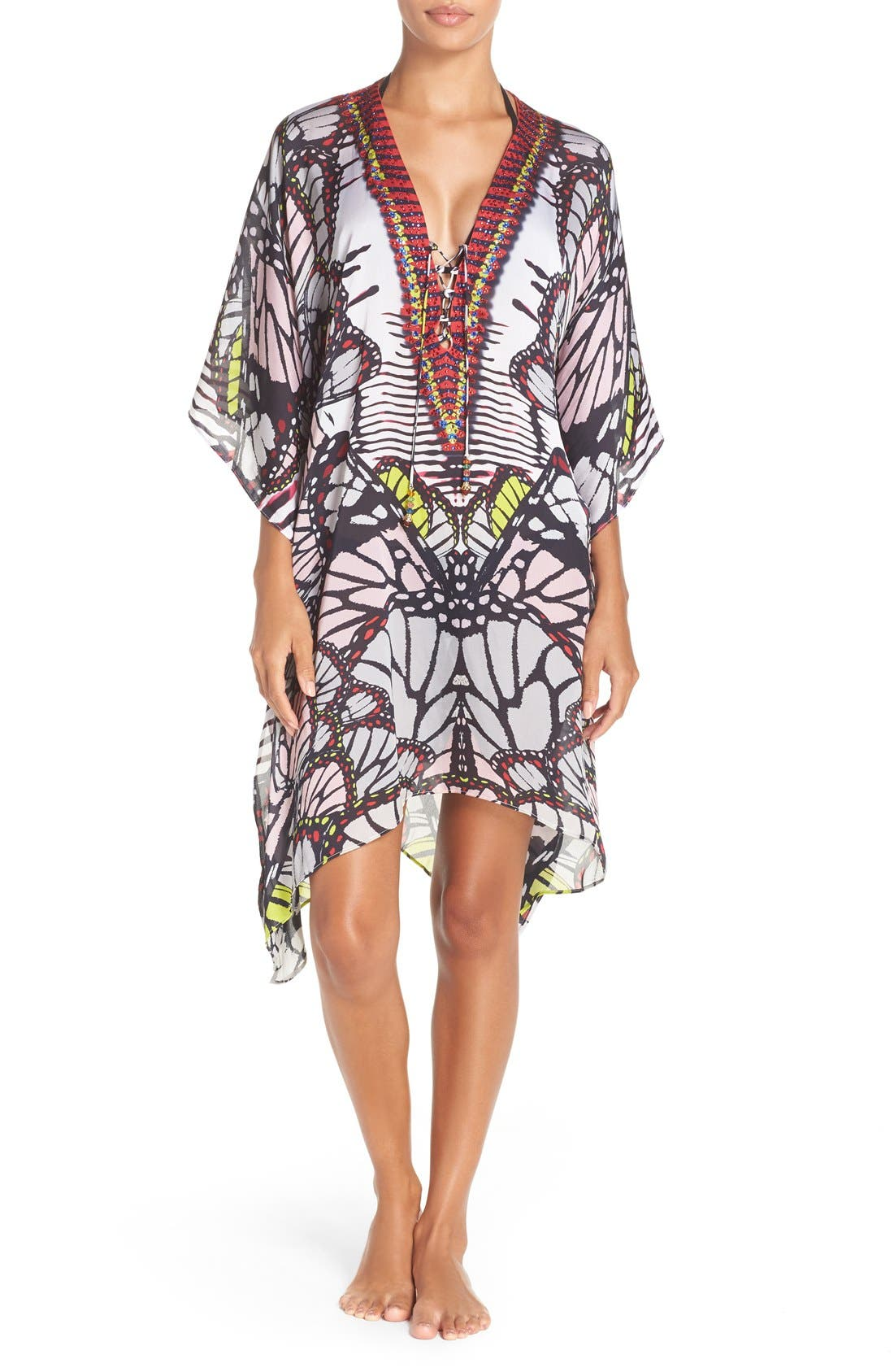 'Waikiki' Short Kaftan,                             Main thumbnail 1, color,
