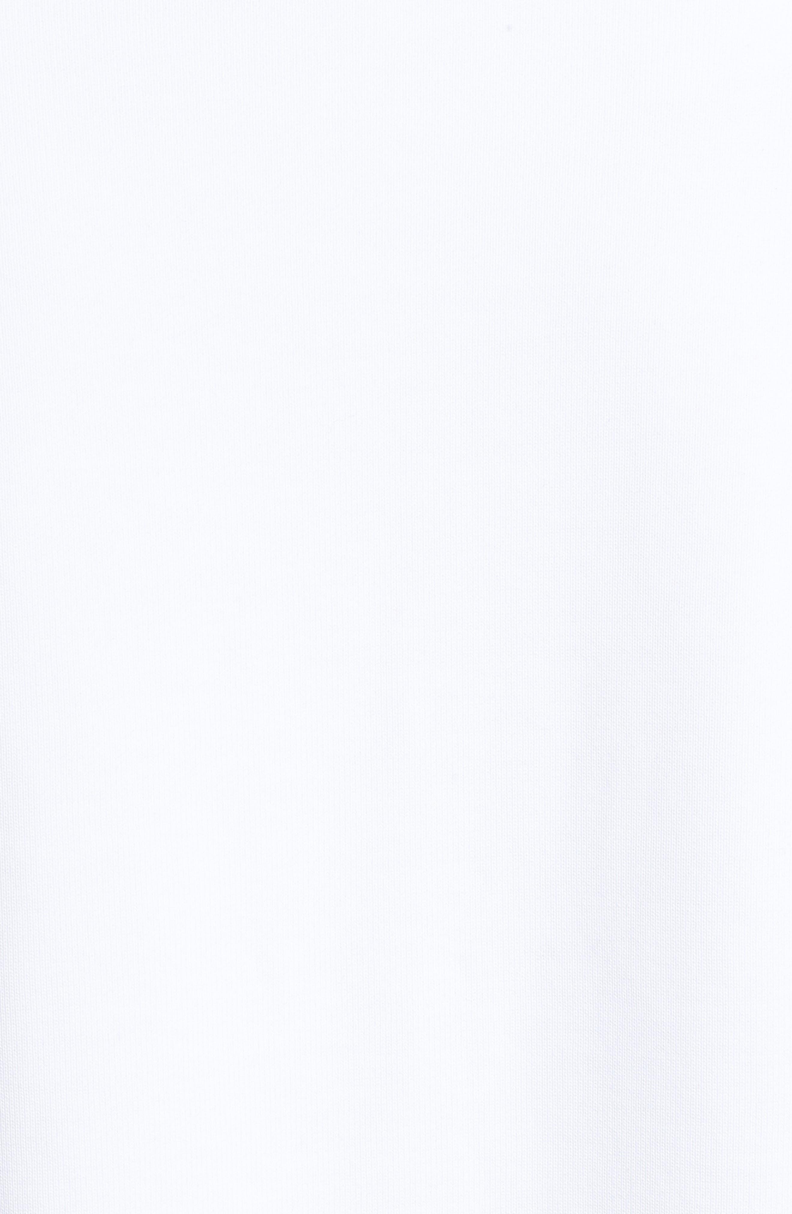 Logo Big Sleeve Sweatshirt,                             Alternate thumbnail 5, color,                             SPORTSWEAR LOGO CREW WHITE