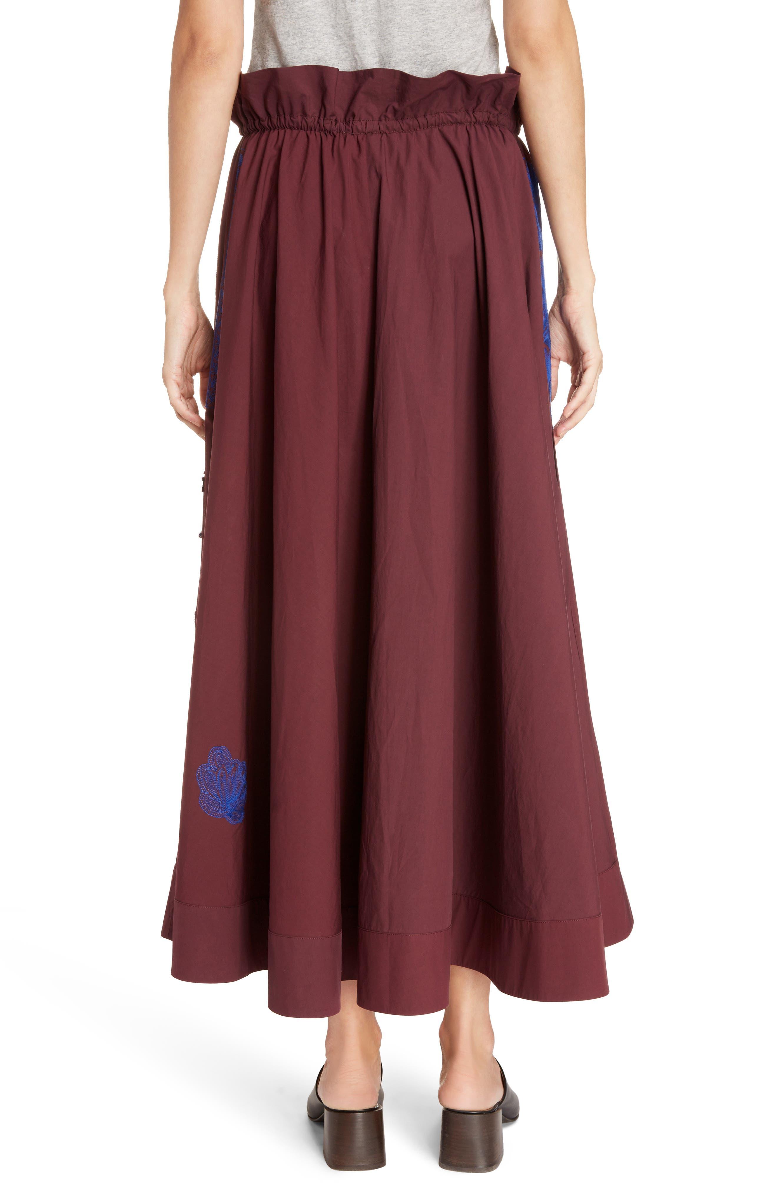 Hela Tie Waist Skirt,                             Alternate thumbnail 2, color,                             930