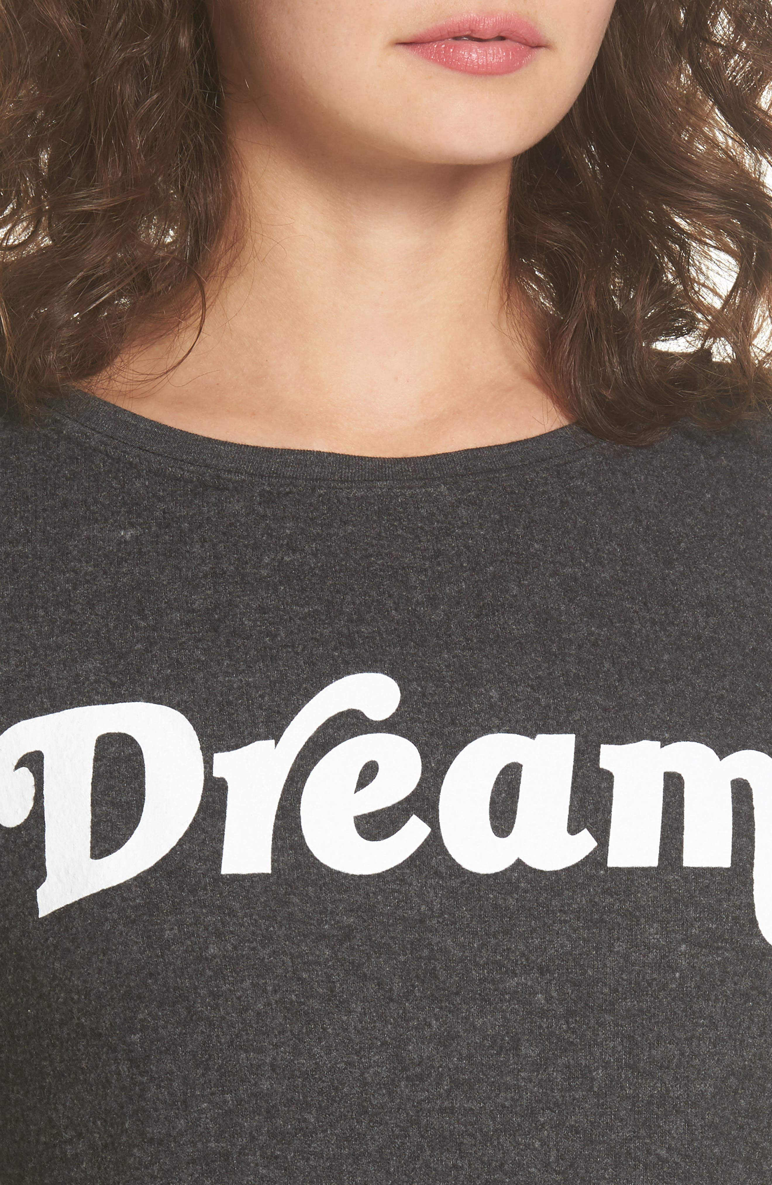 Dream Sweatshirt,                             Alternate thumbnail 4, color,                             001