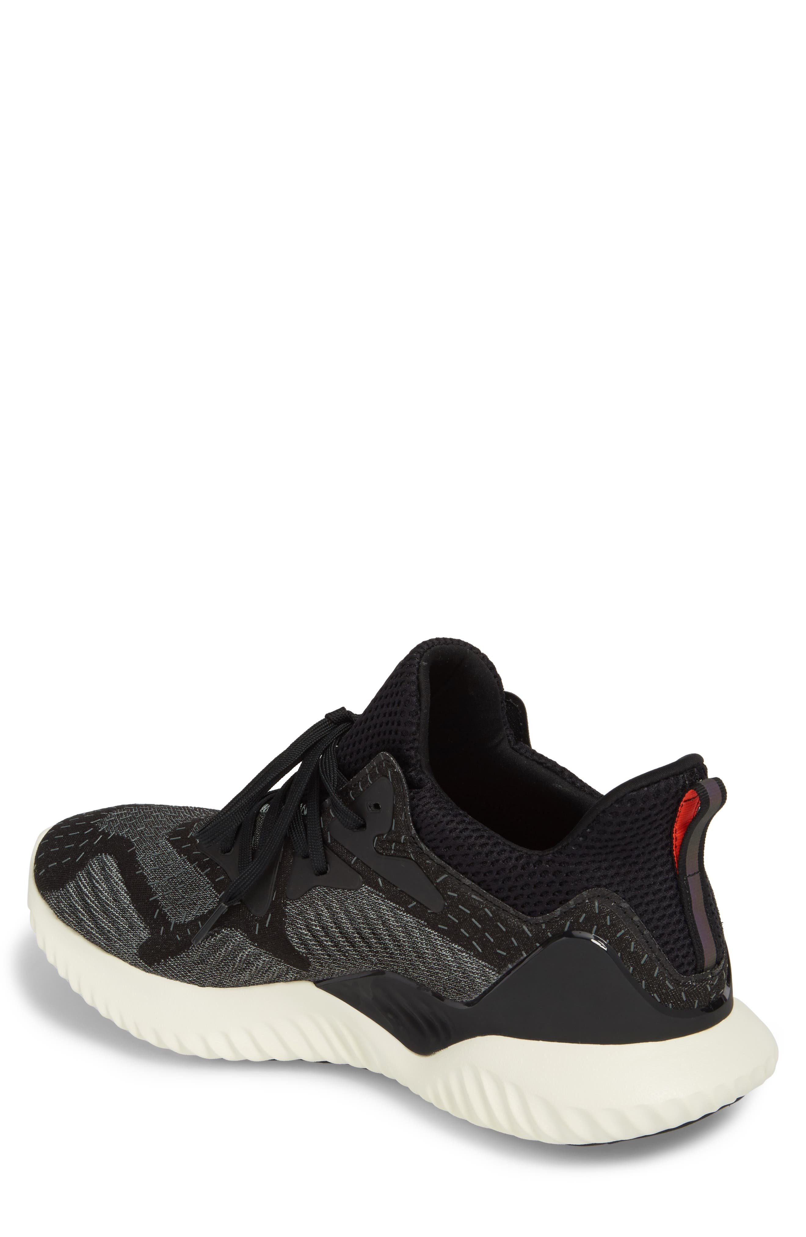 ADIDAS,                             AlphaBounce Beyond Knit Running Shoe,                             Alternate thumbnail 2, color,                             001