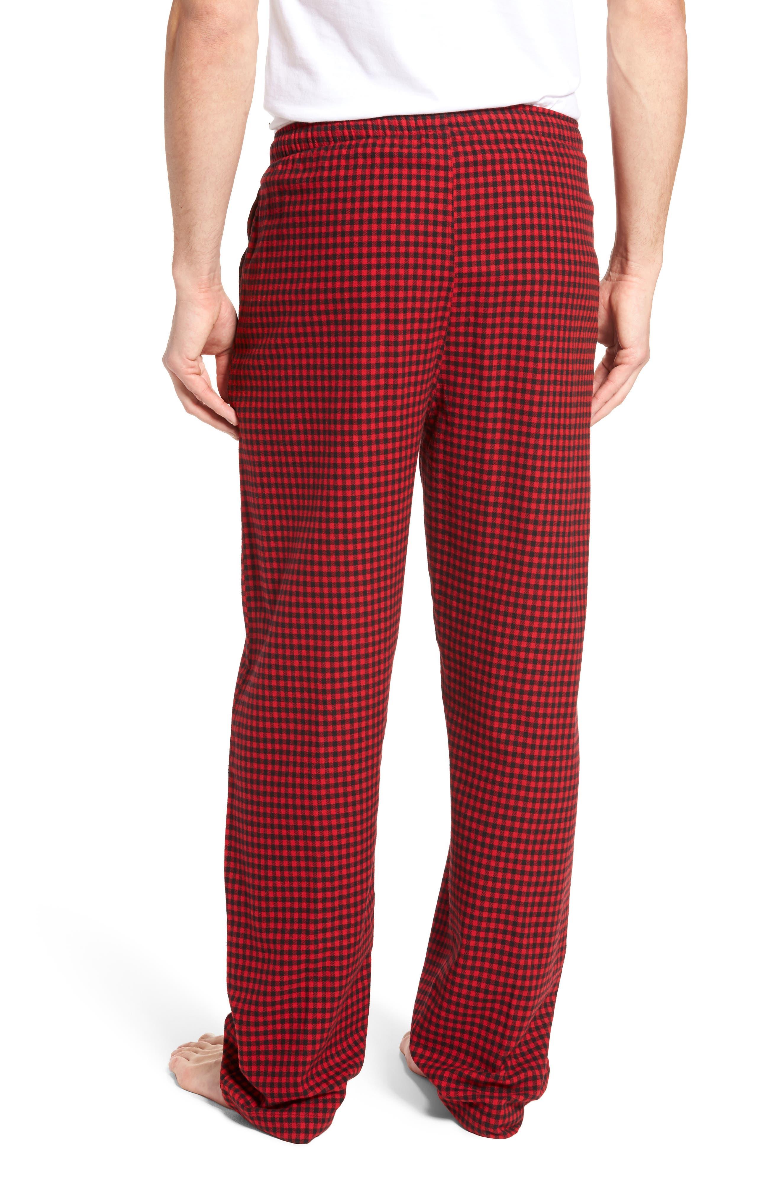 Flannel Pajama Pants,                             Alternate thumbnail 25, color,
