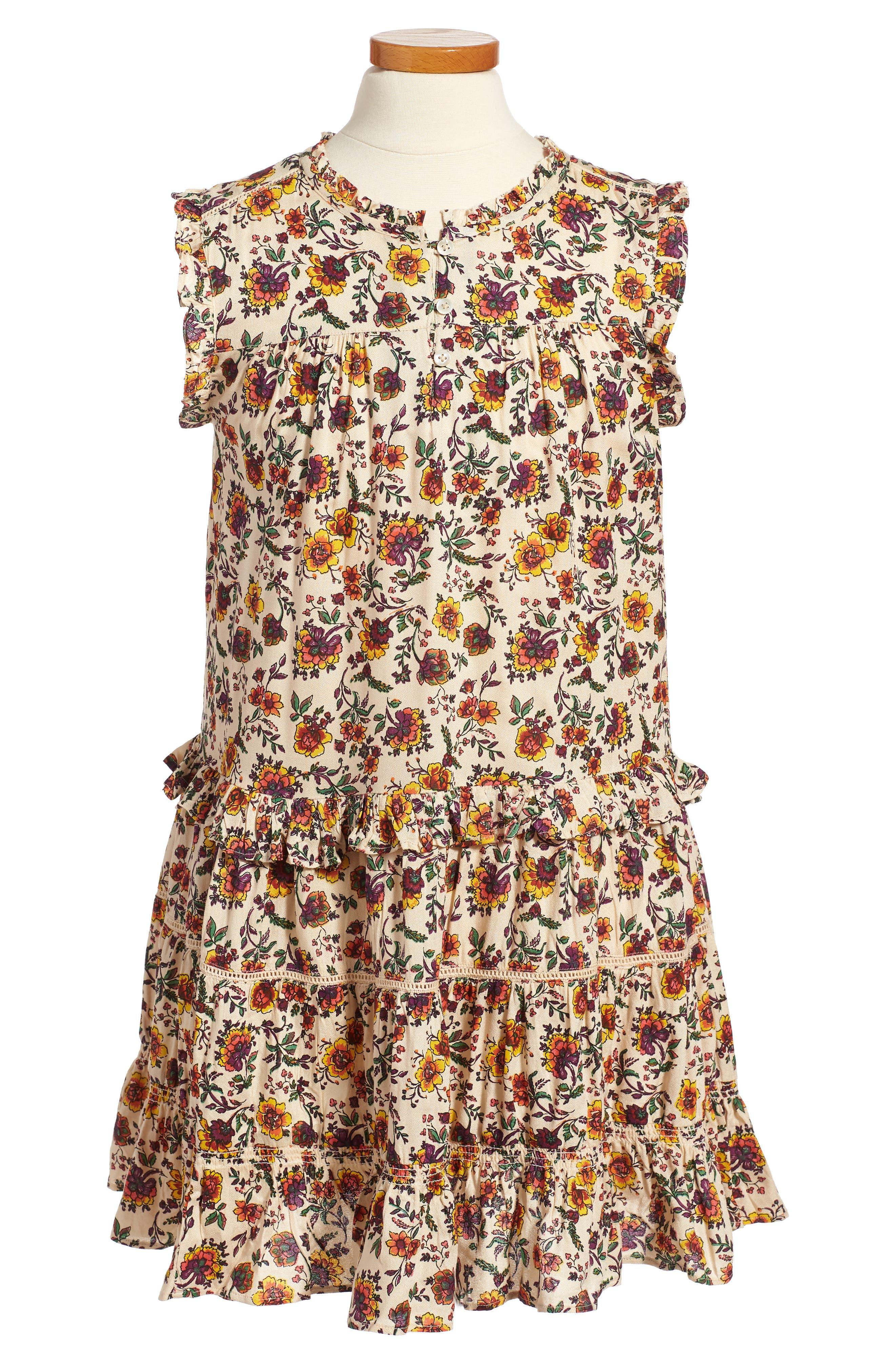 Natalie Print Dress,                             Main thumbnail 1, color,                             905