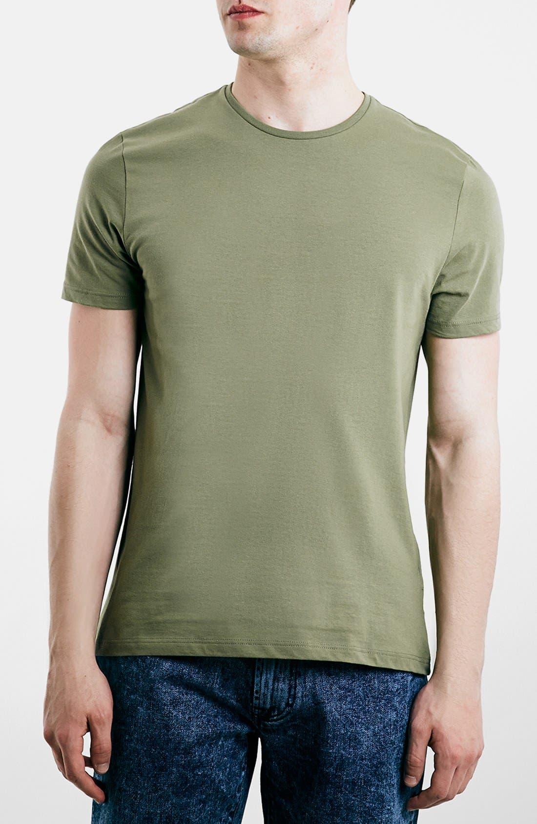 Slim Fit Crewneck T-Shirt,                             Main thumbnail 46, color,