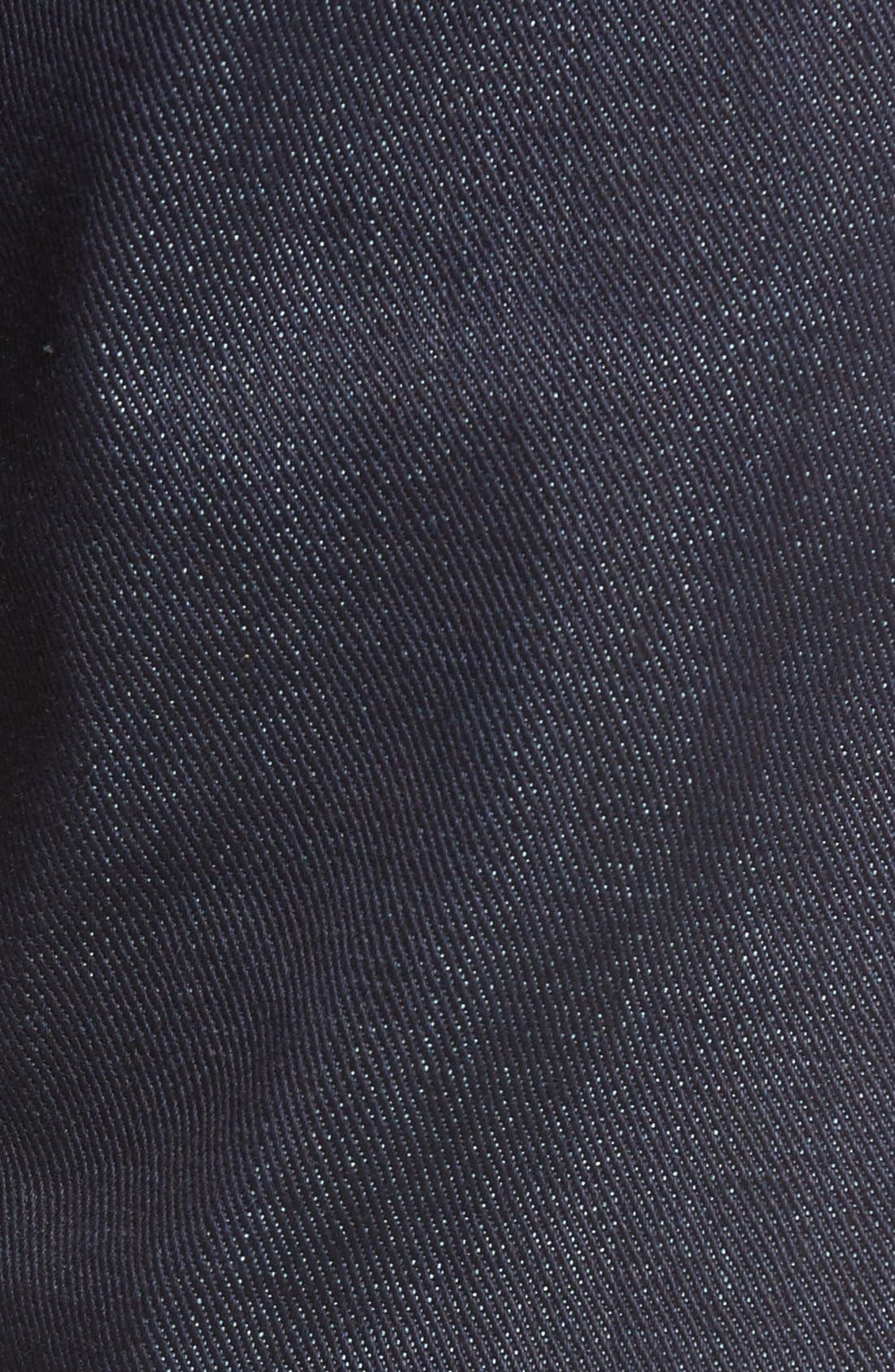 UB121 Selvedge Skinny Fit Jeans,                             Alternate thumbnail 5, color,                             401