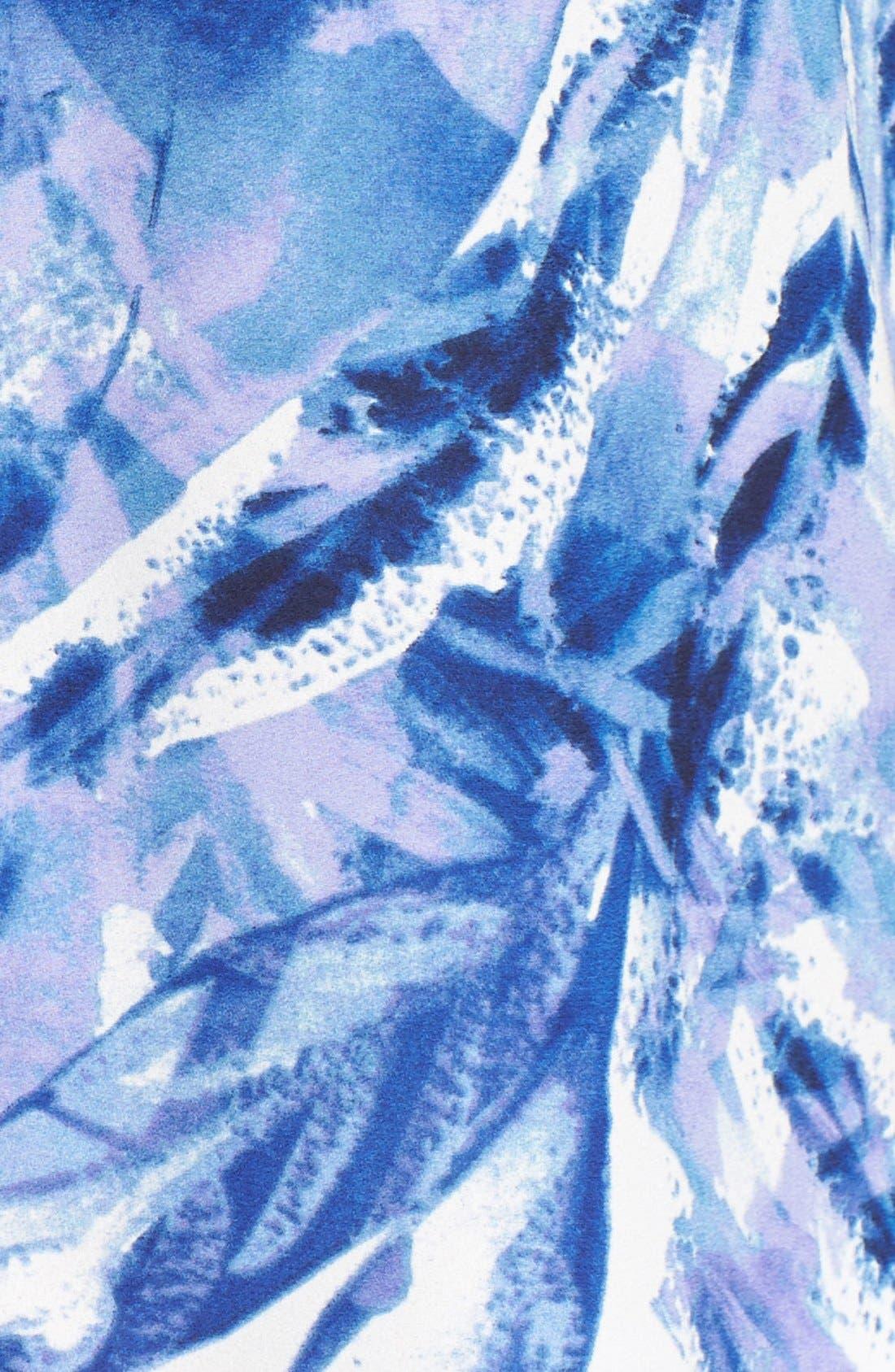 Pleat Back Sleeveless Split Neck Blouse,                             Alternate thumbnail 231, color,