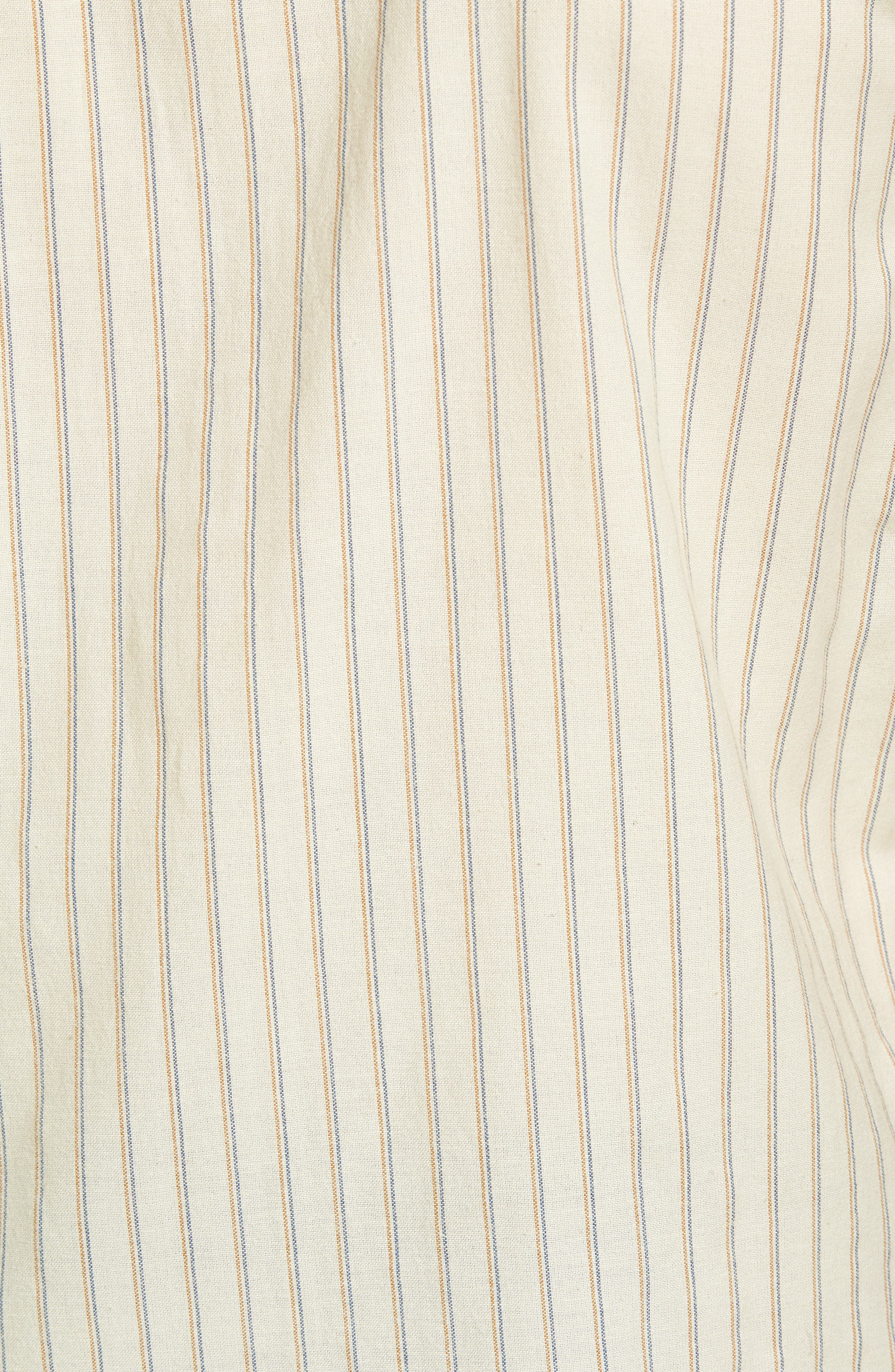 Kelso Tailored Fit Stripe Shirt,                             Alternate thumbnail 5, color,