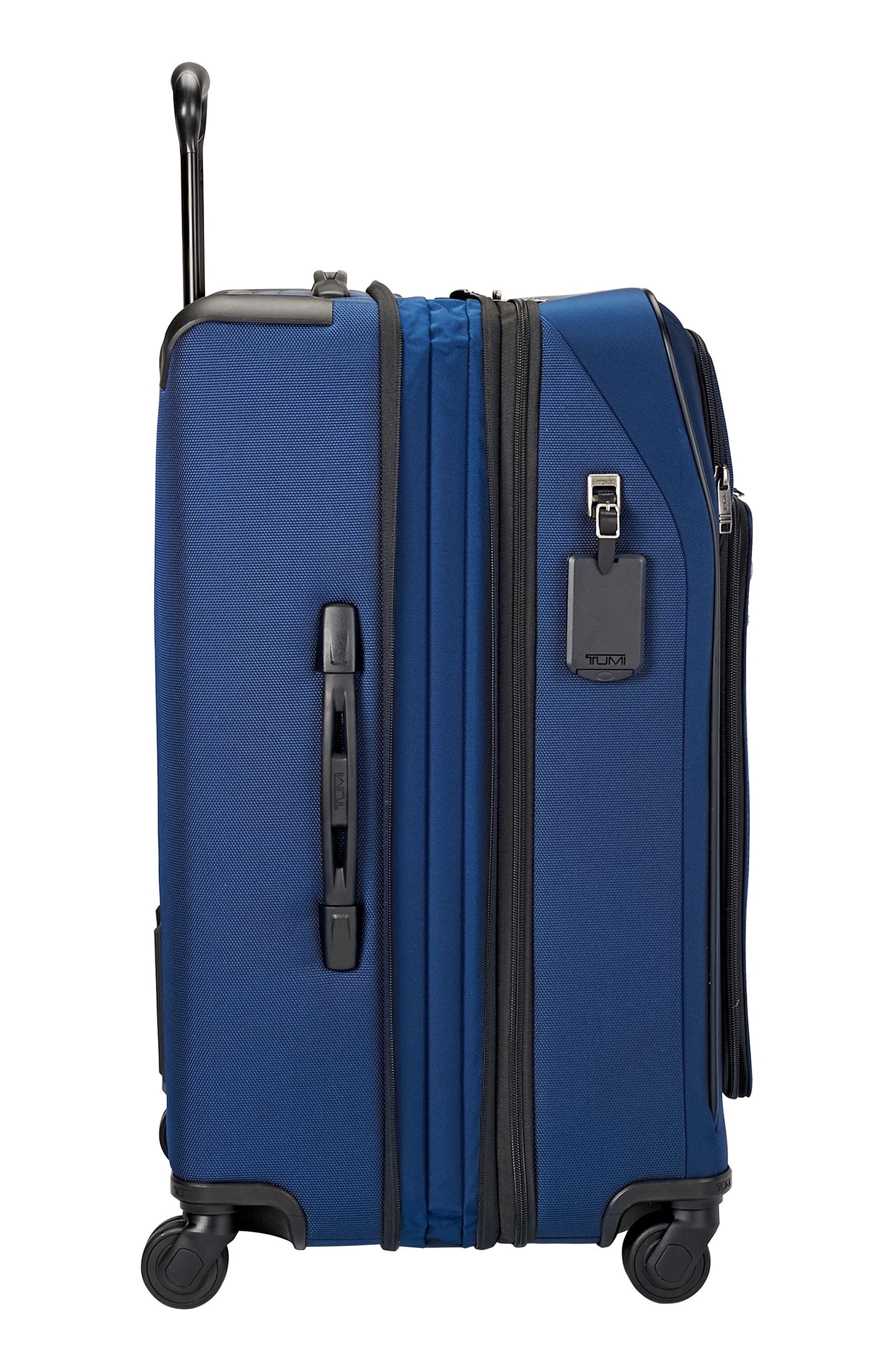 Merge - Short Trip Expandable Rolling Suitcase,                             Alternate thumbnail 3, color,                             OCEAN BLUE