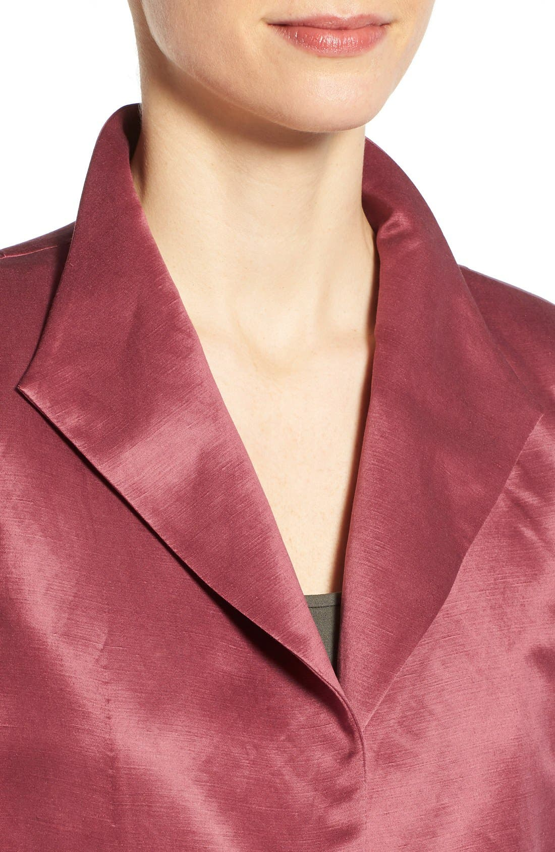 High Collar Long Jacket,                             Alternate thumbnail 26, color,