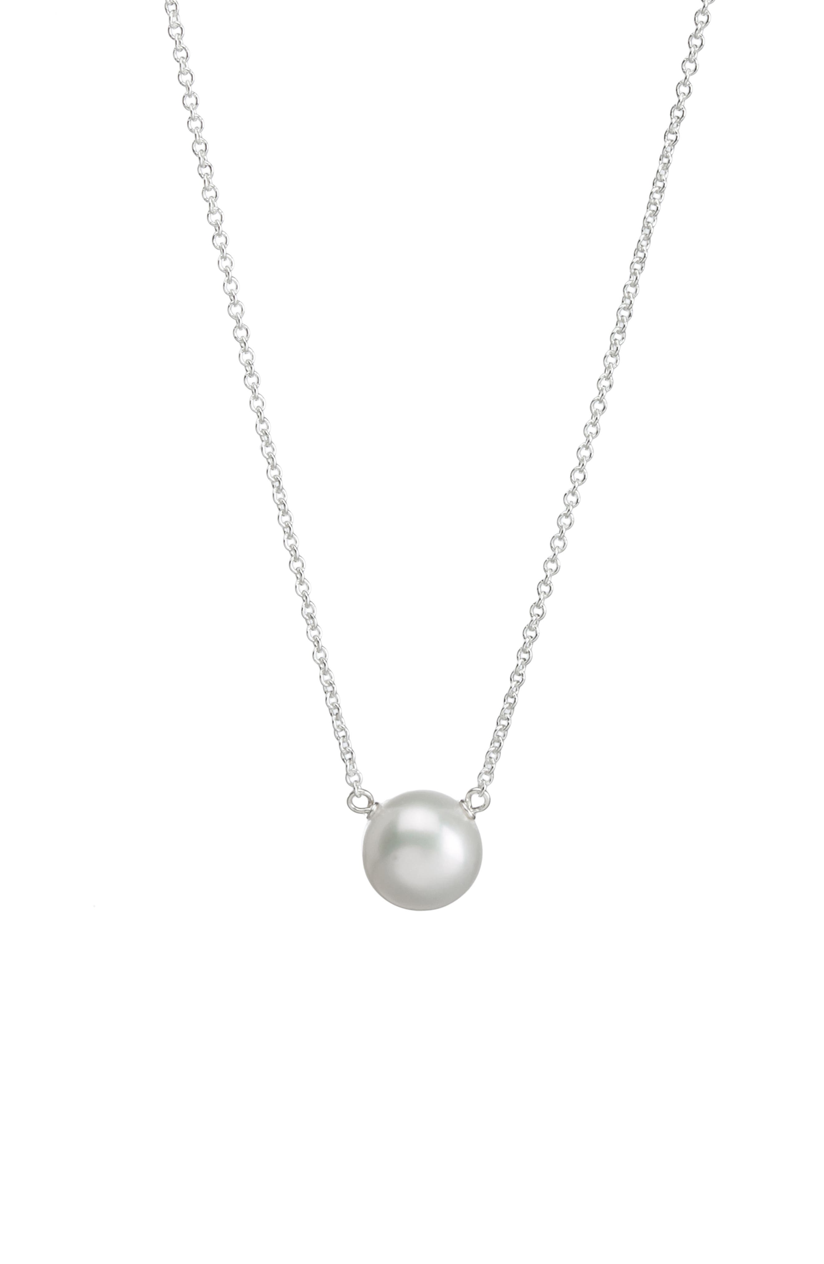 Pearls of... Pendant Necklace,                             Alternate thumbnail 5, color,