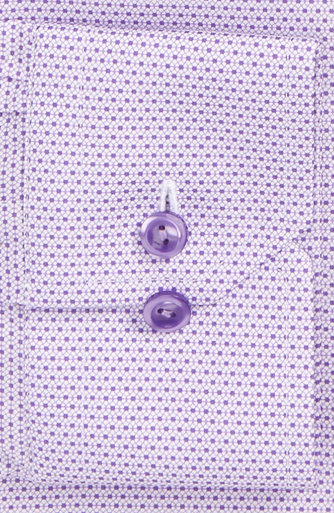 Contemporary Fit Micro Floral Print Dress Shirt,                             Alternate thumbnail 2, color,                             500