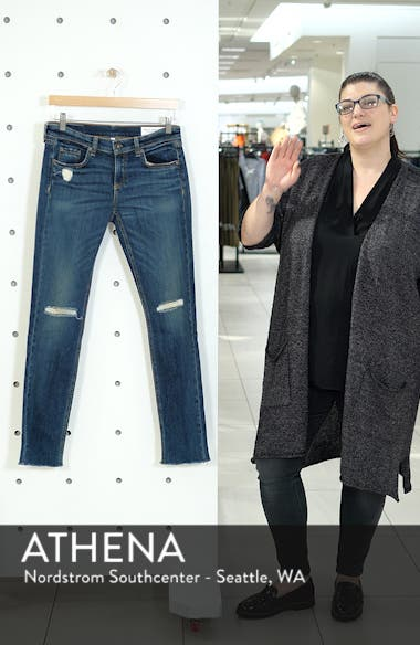 'The Dre' Slim Fit Boyfriend Jeans, sales video thumbnail