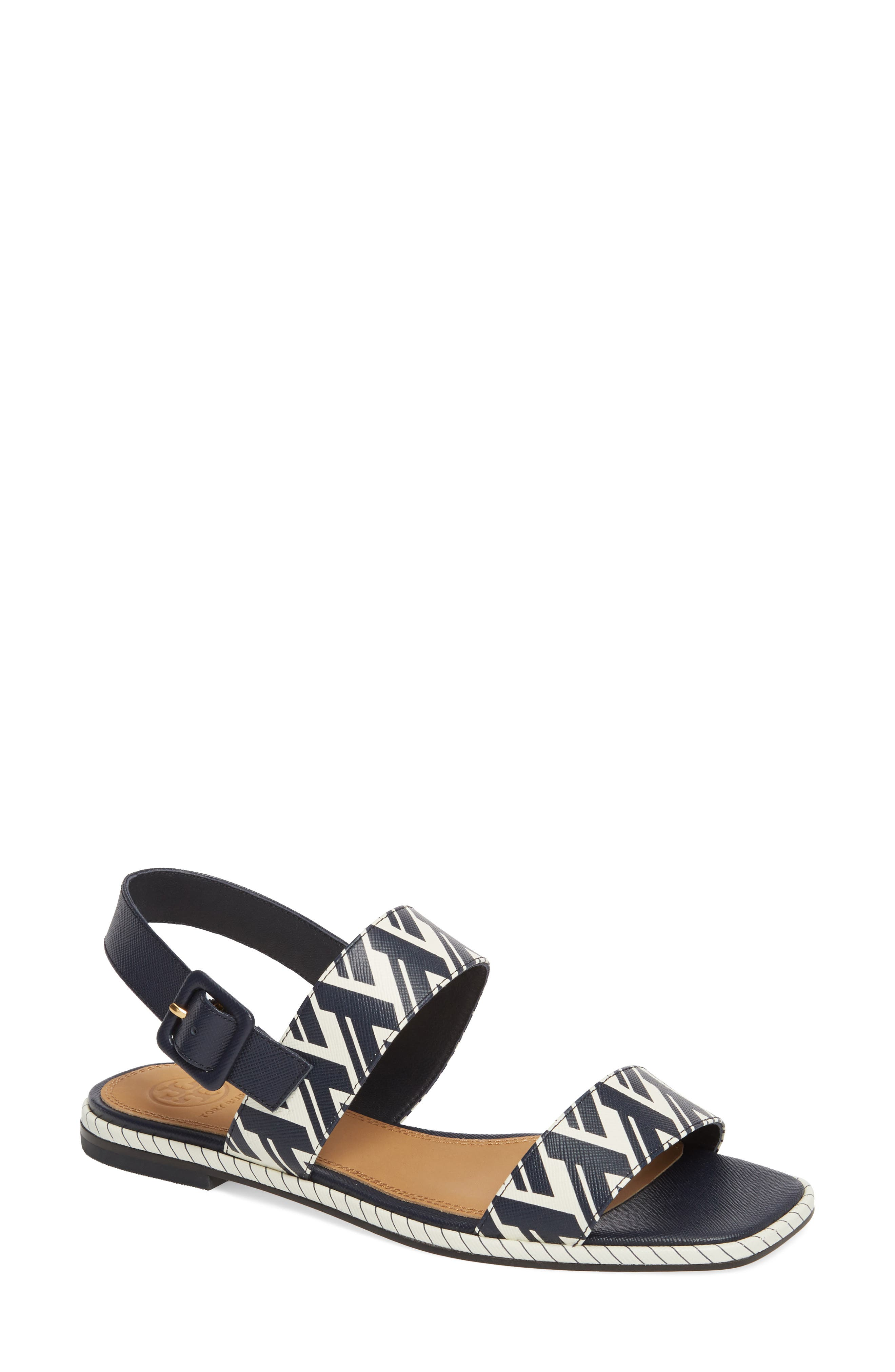Delaney Double Strap Sandal,                             Main thumbnail 3, color,